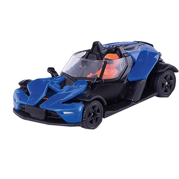 SIKU 1436 Машинка KTM X-BOW GTМашинки<br>Машина KTM X-BOW GT, Siku, станет замечательным подарком для автолюбителей всех возрастов. Модель представляет из себя реалистичную копию настоящего спортивного автомобиля X-Bow австрийского производителя мотоциклов KTM, отличается высокой степенью детализации и тщательной проработкой всех элементов. Автомобиль с открытым верхом оснащен прозрачными стеклами, в салоне размещены фигурка водителя сиденья и руль, сзади пластиковые фары. Колеса вращаются, широкие шины оборудованы спортивными колесными дисками. Корпус модели выполнен из металла, детали изготовлены из ударопрочной пластмассы.<br><br>Дополнительная информация:<br><br>- Материал: металл, пластик.<br>- Размер: 4 x 7 x 2,3 см.<br>- Вес: 18 гр.<br><br> 1436 Машинку KTM X-BOW GT, Siku, можно купить в нашем интернет-магазине.<br>Ширина мм: 96; Глубина мм: 78; Высота мм: 40; Вес г: 54; Возраст от месяцев: 36; Возраст до месяцев: 96; Пол: Мужской; Возраст: Детский; SKU: 4078148;