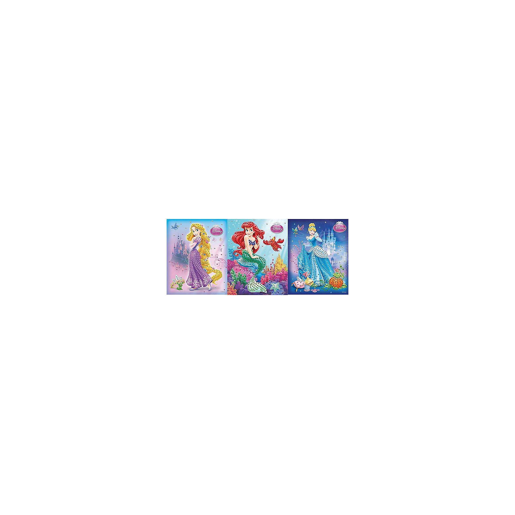 Аппликация из пайеток Принцессы Диснея, Играем вместеАппликация из пайеток Принцессы Диснея, Играем вместе – это набор из разноцветных пайеток для украшения картинки, на которой изображена одна из диснеевских принцесс: русалочка Ариэль, длинноволосая Рапунцель или красавица Золушка.<br><br>Дополнительная информация:<br>-Серия: Принцессы Диснея<br>-Вес в упаковке: 130 г<br>-Размеры в упаковке: 230х320х100  мм<br>-Материалы: пластик, картон<br>-Внимание: дизайн картинок в ассортименте (Рапунцель, Ариэль, Золушка) (заранее выбрать невозможно, при заказе нескольких возможно получение одинаковых)<br><br>Набор для создания аппликации из пайеток «Принцессы Диснея» обрадует Вашего ребенка и позволит весело провести время!<br><br>Аппликация из пайеток Принцессы Диснея, Играем вместе можно купить в нашем магазине.<br><br>Ширина мм: 230<br>Глубина мм: 320<br>Высота мм: 100<br>Вес г: 130<br>Возраст от месяцев: 60<br>Возраст до месяцев: 108<br>Пол: Женский<br>Возраст: Детский<br>SKU: 4079320