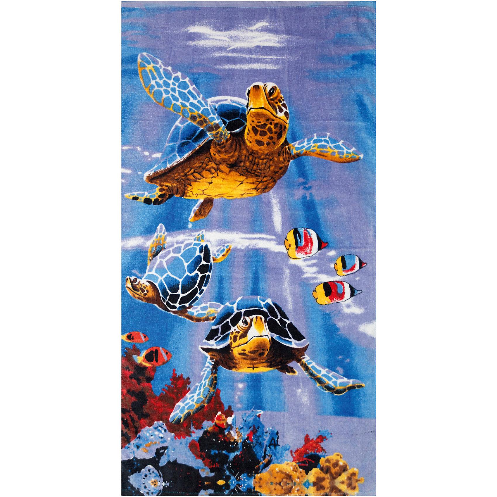 Пляжное полотенце Морские черепахи 60*120 см