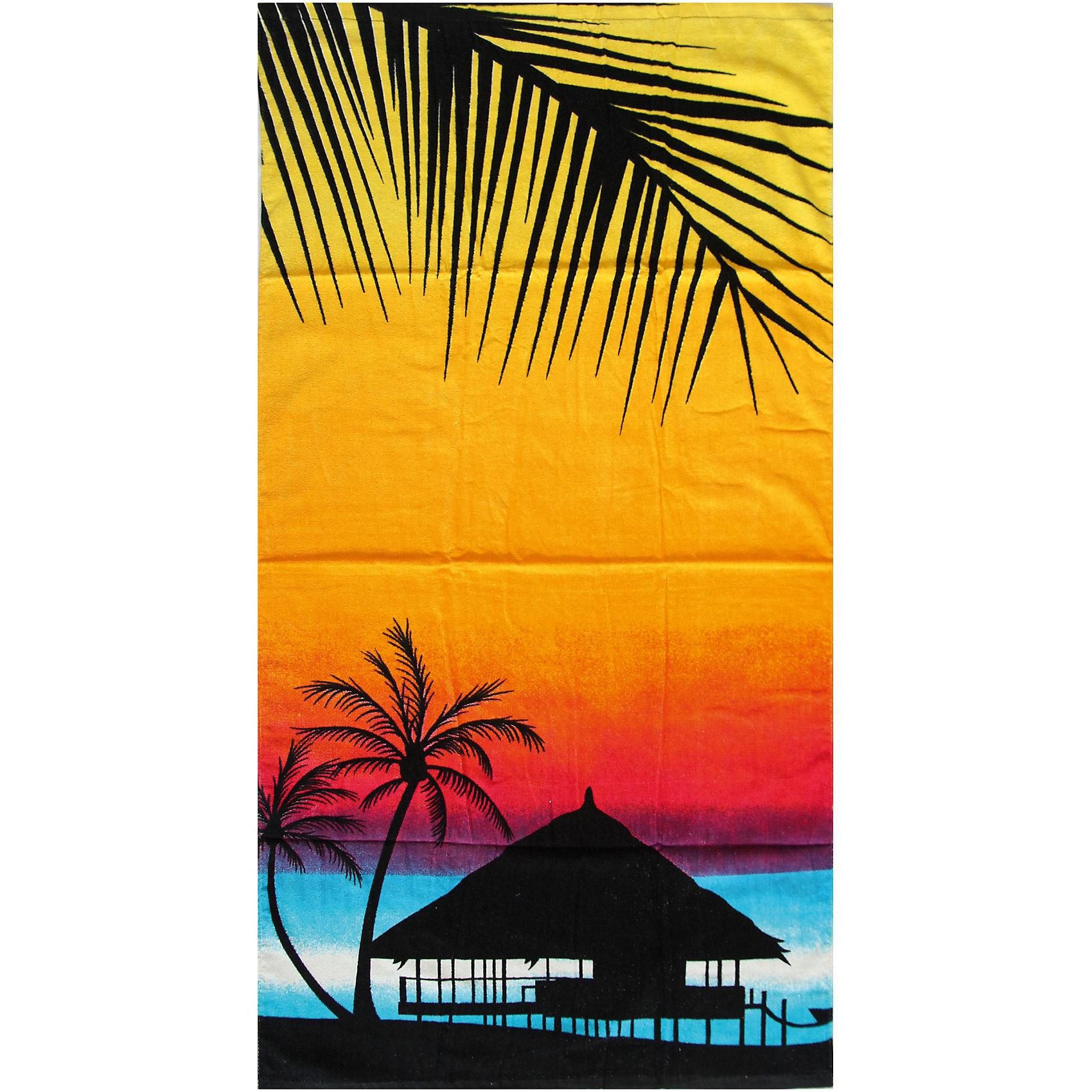 Пляжное полотенце Закат 60*120 смПляжное полотенце Закат 60*120 см – это удобное, яркое полотенце станет для ребенка незаменимым компаньоном после купания.<br>Пляжное полотенце Закат пригодится на пляже, в бассейне, да везде, где есть вода. Полотенце с яркой расцветкой поднимет настроение и подарит много положительных эмоций. Им можно вытереть мокрое тело после купания или просто постелить на шезлонге или песке. Полотенце мягкое, легкое, хорошо впитывает влагу, сделано из 100% хлопка.<br><br>Дополнительная информация:<br><br>- Размер: 70х140 см.<br>- Материал: хлопок 100%<br><br>Пляжное полотенце Закат 60*120 см можно купить в нашем интернет-магазине.<br><br>Ширина мм: 380<br>Глубина мм: 240<br>Высота мм: 30<br>Вес г: 323<br>Возраст от месяцев: 24<br>Возраст до месяцев: 192<br>Пол: Унисекс<br>Возраст: Детский<br>SKU: 4079867