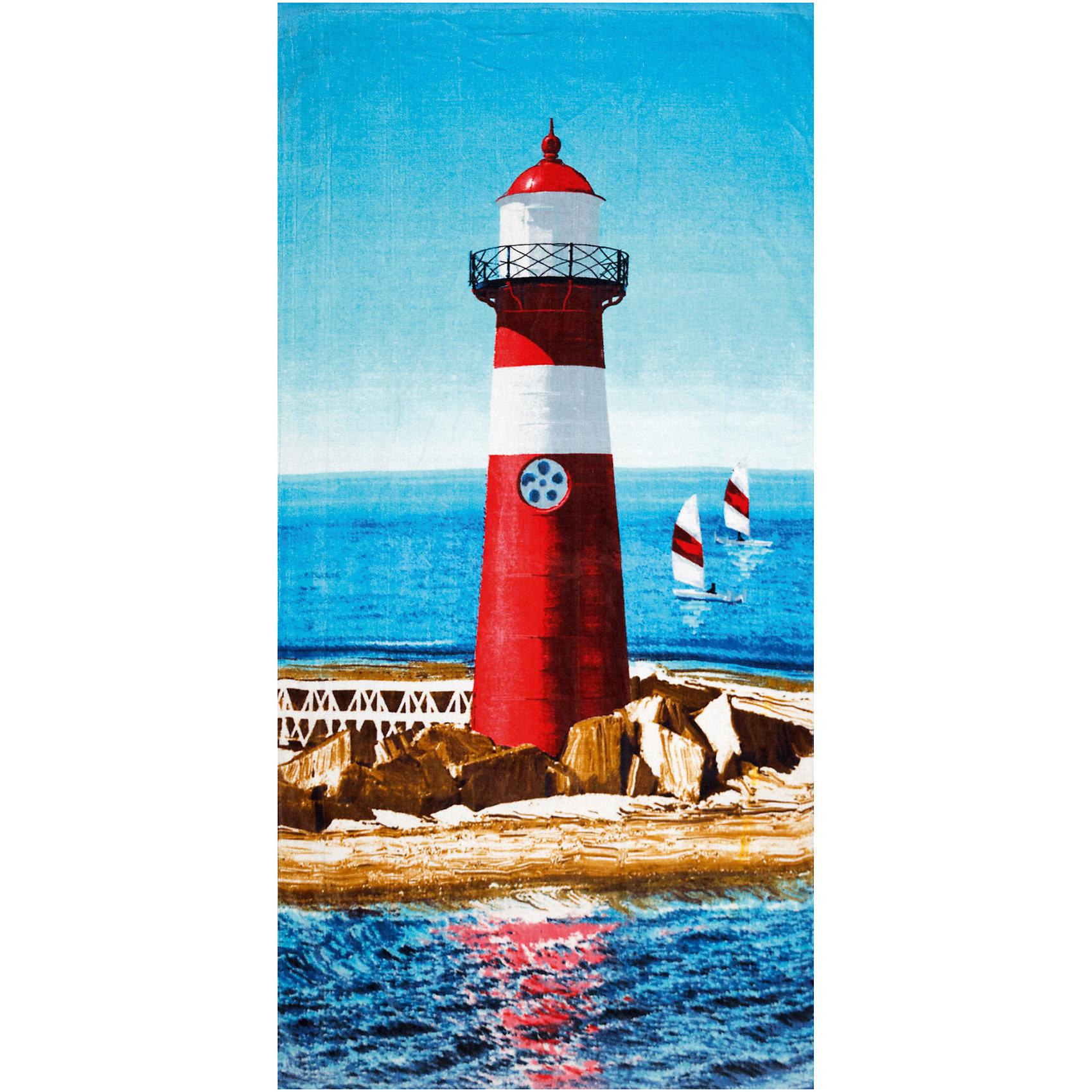 Пляжное полотенце Маяк 60*120 смПляжные полотенца<br>Пляжное полотенце Маяк 60*120 см – это удобное, яркое полотенце станет для ребенка незаменимым компаньоном после купания.<br>Пляжное полотенце Маяк пригодится на пляже, в бассейне, да везде, где есть вода. Полотенце с яркой расцветкой поднимет настроение и подарит много положительных эмоций. Им можно вытереть мокрое тело после купания или просто постелить на шезлонге или песке. Полотенце мягкое, легкое, хорошо впитывает влагу, сделано из 100% хлопка.<br><br>Дополнительная информация:<br><br>- Размер: 70х140 см.<br>- Материал: хлопок 100%<br><br>Пляжное полотенце Маяк 60*120 см можно купить в нашем интернет-магазине.<br><br>Ширина мм: 370<br>Глубина мм: 250<br>Высота мм: 20<br>Вес г: 313<br>Возраст от месяцев: 24<br>Возраст до месяцев: 192<br>Пол: Унисекс<br>Возраст: Детский<br>SKU: 4079869