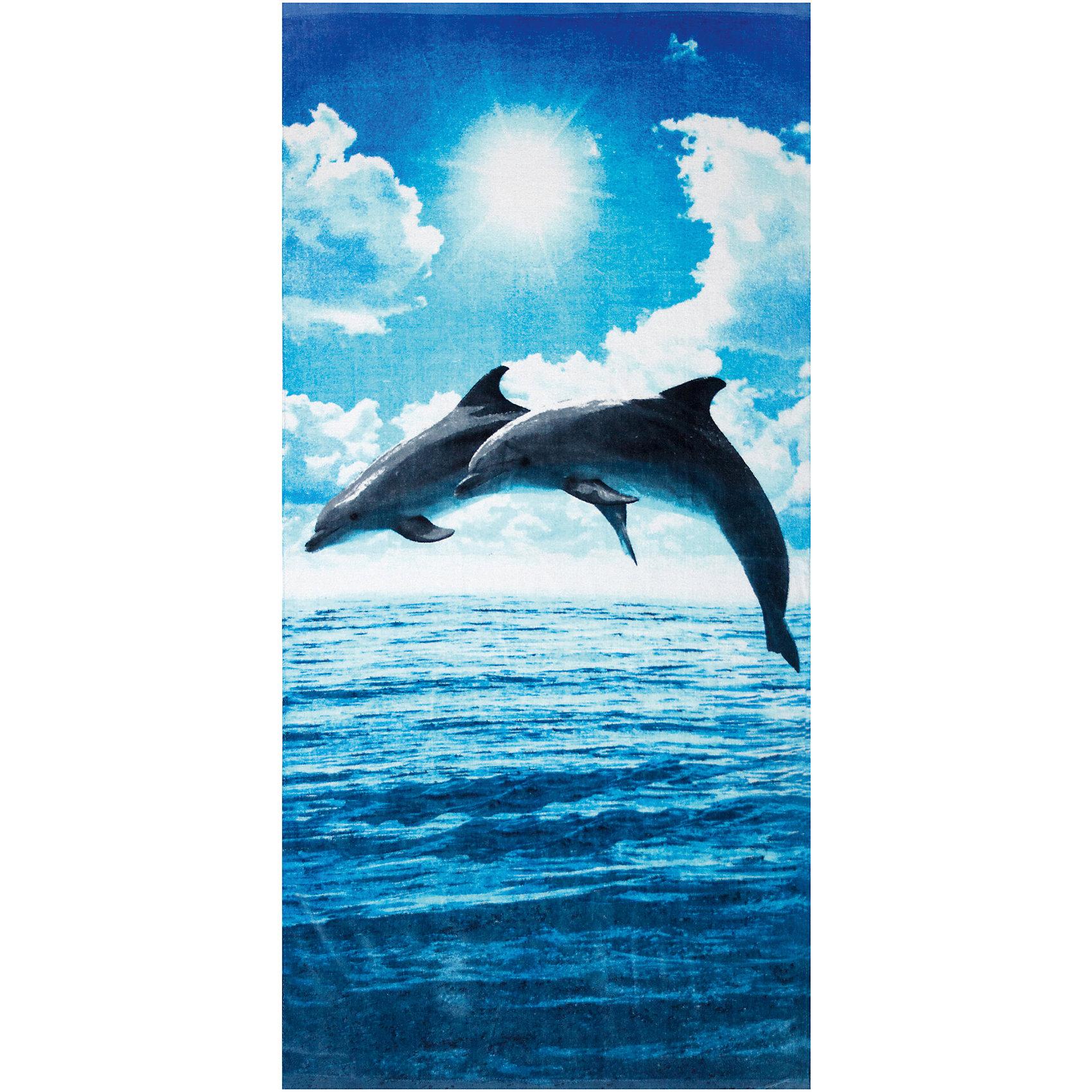 Пляжное полотенце Прыжки дельфинов 60*120 смПляжное полотенце Прыжки дельфинов 60*120 см – это удобное, яркое полотенце станет для ребенка незаменимым компаньоном после купания.<br>Пляжное полотенце Прыжки дельфинов пригодится на пляже, в бассейне, да везде, где есть вода. Полотенце с яркой расцветкой поднимет настроение и подарит много положительных эмоций. Им можно вытереть мокрое тело после купания или просто постелить на шезлонге или песке. Полотенце мягкое, легкое, хорошо впитывает влагу, сделано из 100% хлопка.<br><br>Дополнительная информация:<br><br>- Размер: 70х140 см.<br>- Материал: хлопок 100%<br><br>Пляжное полотенце Прыжки дельфинов 60*120 см можно купить в нашем интернет-магазине.<br><br>Ширина мм: 370<br>Глубина мм: 250<br>Высота мм: 20<br>Вес г: 319<br>Возраст от месяцев: 24<br>Возраст до месяцев: 192<br>Пол: Унисекс<br>Возраст: Детский<br>SKU: 4079870