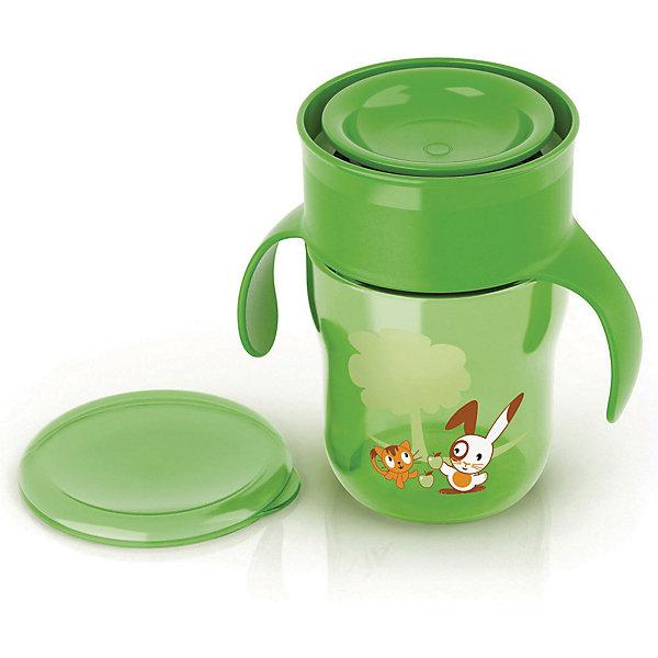 Поильник-чашка , 260мл, AVENT, зеленыйПоильники<br>Поильник-чашка 260мл - инновационная чашка от Philips AVENT (Авент), которая поможет Вашему малышу легко и играючи перейти на использование обычной чашки без носика и трубочки. Кроме того, кружка-поильник удобна для использования в любом транспорте и позволит сохранить в чистоте одежду малыша и салон автомобиля.<br>Уникальный клапан с защитой от протекания — передовое решение, специально разработанное экспертами Philips AVENT (Авент). Клапан реагирует на прикосновение губ, обеспечивая удобство питья для ребенка и исключая проливание напитка.<br>Обучающие ручки приучают малыша держать чашку и пить без посторонней помощи.<br>Дополнительная информация:<br>- В  комплекте кружка-поильник с защитным клапаном и обучающими ручками, крышка - 1 шт.<br>- Клапан с быстрым потоком позволяет малышу пить, не прилагая лишних усилий, не всасывая жидкость. Идеально для малышей старше года.<br>- Не содержит бисфенол-А.<br>- Можно мыть в посудомоечной машине.<br>- Кружка-поильник не предназначена для приготовления пищи, а также  для горячих и шипучих напитков.<br>Поильник-чашку , 260мл, AVENT в зеленом цвете можно купить в нашем интернет-магазине.<br><br>Ширина мм: 150<br>Глубина мм: 70<br>Высота мм: 70<br>Вес г: 250<br>Цвет: зеленый<br>Возраст от месяцев: 6<br>Возраст до месяцев: 24<br>Пол: Унисекс<br>Возраст: Детский<br>SKU: 4079882