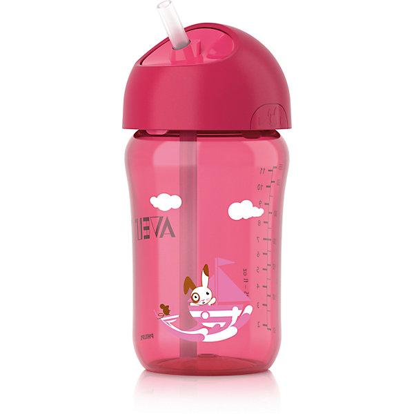 Кружка с трубочкой , 340 мл, AVENT, розовыйПоильники<br>Чашка с трубочкой Philips AVENT (Авент) 340 мл, отлично подойдет подрастающему малышу.<br>Герметичная чашка с завинчивающейся крышкой предназначена для обучения самостоятельному питанию, а также чашку легко разбирать и мыть.  <br>Дополнительная информация:  <br>- Гибкая силиконовая трубочка со встроенным герметичным клапаном <br>- Ребенок может самостоятельно открывать и закрывать крышку <br>- Завинчивающаяся крышка обеспечивает чистоту трубочки <br>- Совместимость с другими изделиями серии Philips AVENT (Авент) <br>- Для обеспечения гигиеничности всю чашку можно стерилизовать <br>- Небольшое количество деталей, из которых состоит чашка, упрощает чистку и сборку <br>- Все детали можно мыть в посудомоечной машин .<br>Кружку с трубочкой , 340 мл, AVENT в розовом цвете можно купить в нашем интернет-магазине.<br><br>Ширина мм: 85<br>Глубина мм: 175<br>Высота мм: 105<br>Вес г: 144<br>Цвет: розовый<br>Возраст от месяцев: 18<br>Возраст до месяцев: 36<br>Пол: Женский<br>Возраст: Детский<br>SKU: 4079887