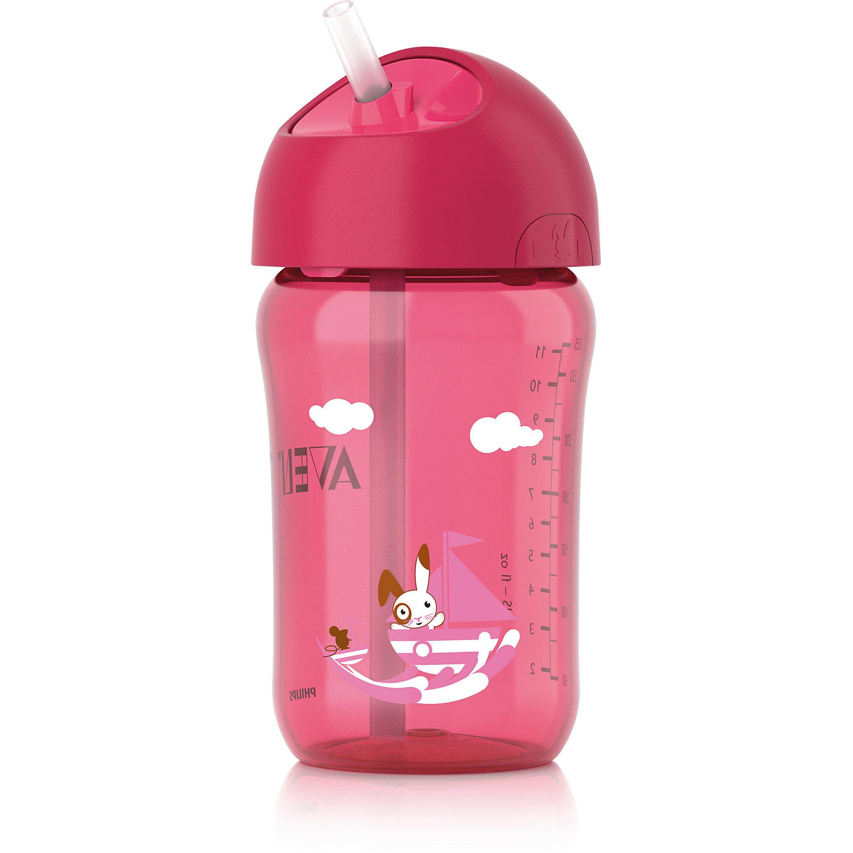 Кружка с трубочкой , 340 мл, AVENT, розовыйЧашка с трубочкой Philips AVENT (Авент) 340 мл, отлично подойдет подрастающему малышу.<br>Герметичная чашка с завинчивающейся крышкой предназначена для обучения самостоятельному питанию, а также чашку легко разбирать и мыть.  <br>Дополнительная информация:  <br>- Гибкая силиконовая трубочка со встроенным герметичным клапаном <br>- Ребенок может самостоятельно открывать и закрывать крышку <br>- Завинчивающаяся крышка обеспечивает чистоту трубочки <br>- Совместимость с другими изделиями серии Philips AVENT (Авент) <br>- Для обеспечения гигиеничности всю чашку можно стерилизовать <br>- Небольшое количество деталей, из которых состоит чашка, упрощает чистку и сборку <br>- Все детали можно мыть в посудомоечной машин .<br>Кружку с трубочкой , 340 мл, AVENT в розовом цвете можно купить в нашем интернет-магазине.<br><br>Ширина мм: 85<br>Глубина мм: 175<br>Высота мм: 105<br>Вес г: 144<br>Цвет: розовый<br>Возраст от месяцев: 18<br>Возраст до месяцев: 36<br>Пол: Женский<br>Возраст: Детский<br>SKU: 4079887