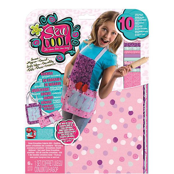 Набор для создания собственных дизайнов  Sew CoolНаборы для шитья игрушек<br>Набор для создания собственных дизайнов Sew Cool (Сью кул)<br><br>Характеристики:<br><br>• можно создать рюкзачок или фартук<br>• схемы в комплекте<br>• размер упаковки: 30,5х22,5х2 см<br>• вес: 210 грамм<br>• в комплекте: 10 тканевых элементов, тесьма, выкройки, инструкция<br><br>С помощью набора от Sew Cool девочка сможет почувствовать себя настоящим дизайнером. В комплект входят несколько элементов ткани, тесьма, из которых можно создать рюкзачок или фартук. Инструкция и схемы подскажут как сделать это правильно. Проявив фантазию, ребенок сможет сам придумать новое изделие!<br><br>Набор для создания собственных дизайнов Sew Cool (Сью кул) вы можете купить в нашем интернет-магазине.<br>Ширина мм: 312; Глубина мм: 238; Высота мм: 35; Вес г: 207; Возраст от месяцев: 72; Возраст до месяцев: 120; Пол: Женский; Возраст: Детский; SKU: 4080693;