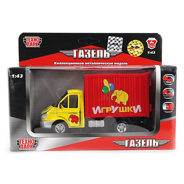 Машина Газель, 1:43, со светом и звуком, ТЕХНОПАРКМашинки<br>Дети обожают разыгрывать дорожные истории с участием машинок. Для перевозки игрушечных грузов необходим надежный грузовик. Яркий грузовичок Газель Игрушки так и просится в коллекцию! Машина Газель от ТЕХНОПАРК сделает игры ребенка еще более увлекательными. Машинка отлично детализирована, у нее открываются двери и капот, светятся фары. Модель грузовой машинки оснащена инерционным механизмом, поэтому может двигаться вперед на отличной скорости. Чтобы привести инерционный механизм в действие, откатите машинку назад, держа ее за крышу и чуть надавливая на нее, а затем отпустите. Родителей особенно порадуют обрезиненные колеса, которые не испортят напольное покрытие. Машина Газель Игрушки от ТЕХНОПАРК - отличное дополнение для коллекции машинок ребенка.  <br><br>Дополнительная информация:<br><br>- Масштаб: 1:43;<br>- Прекрасная детализация;<br>- Реалистичные световые и звуковые эффекты;<br>- Батарейки в комплекте;<br>- Материал: металл, пластик;<br>- Цвет: желтый, красный;<br>- Размер упаковки: 16 х 8 х 22 см;<br>- Вес: 310 г<br><br>Машину Газель, 1:43, со светом и звуком, ТЕХНОПАРК можно купить в нашем интернет-магазине.<br><br>Ширина мм: 160<br>Глубина мм: 80<br>Высота мм: 220<br>Вес г: 310<br>Возраст от месяцев: 36<br>Возраст до месяцев: 144<br>Пол: Мужской<br>Возраст: Детский<br>SKU: 4082922