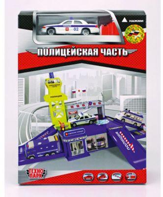 Полицейская Дежурная часть, с машиной и пусковой установкой, ТЕХНОПАРК