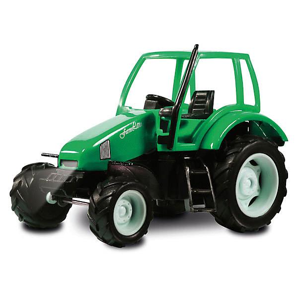 Трактор, со светом и звуком, ТЕХНОПАРКМашинки<br>Дети обожают наблюдать за тракторами и другими машинами. Реалистичные копии машинок очень увлекают детей и дают возможность проявить фантазию. Трактор - совершенно необходимая техника в городе и на селе. Модель трактора с красной кабиной отлично детализирована, можно рассмотреть кабину, руль и лесенку для водителя. Для большей реалистичности машинка имеет звуковые и световые эффекты. Трактор с широкими колесами отличается прочностью и долговечностью. Трактор оснащен инерционным механизмом, поэтому может двигаться вперед на отличной скорости. Чтобы привести инерционный механизм в действие, откатите машинку назад, держа ее за крышу и чуть надавливая на нее, а затем отпустите. Трактор со светом и звуком от ТЕХНОПАРК - отличное дополнение для коллекции машинок ребенка.  <br><br>Дополнительная информация:<br><br>- Прекрасная детализация;<br>- Реалистичные световые и звуковые эффекты;<br>- Материал: металл, пластик;<br>- Цвет: красный, черный;<br>- Размер упаковки: 20 х 8 х 16 см;<br>- Вес: 280 г<br><br>Трактор, со светом и звуком, ТЕХНОПАРК можно купить в нашем интернет-магазине.<br><br>Ширина мм: 200<br>Глубина мм: 80<br>Высота мм: 160<br>Вес г: 280<br>Возраст от месяцев: 36<br>Возраст до месяцев: 144<br>Пол: Мужской<br>Возраст: Детский<br>SKU: 4082937