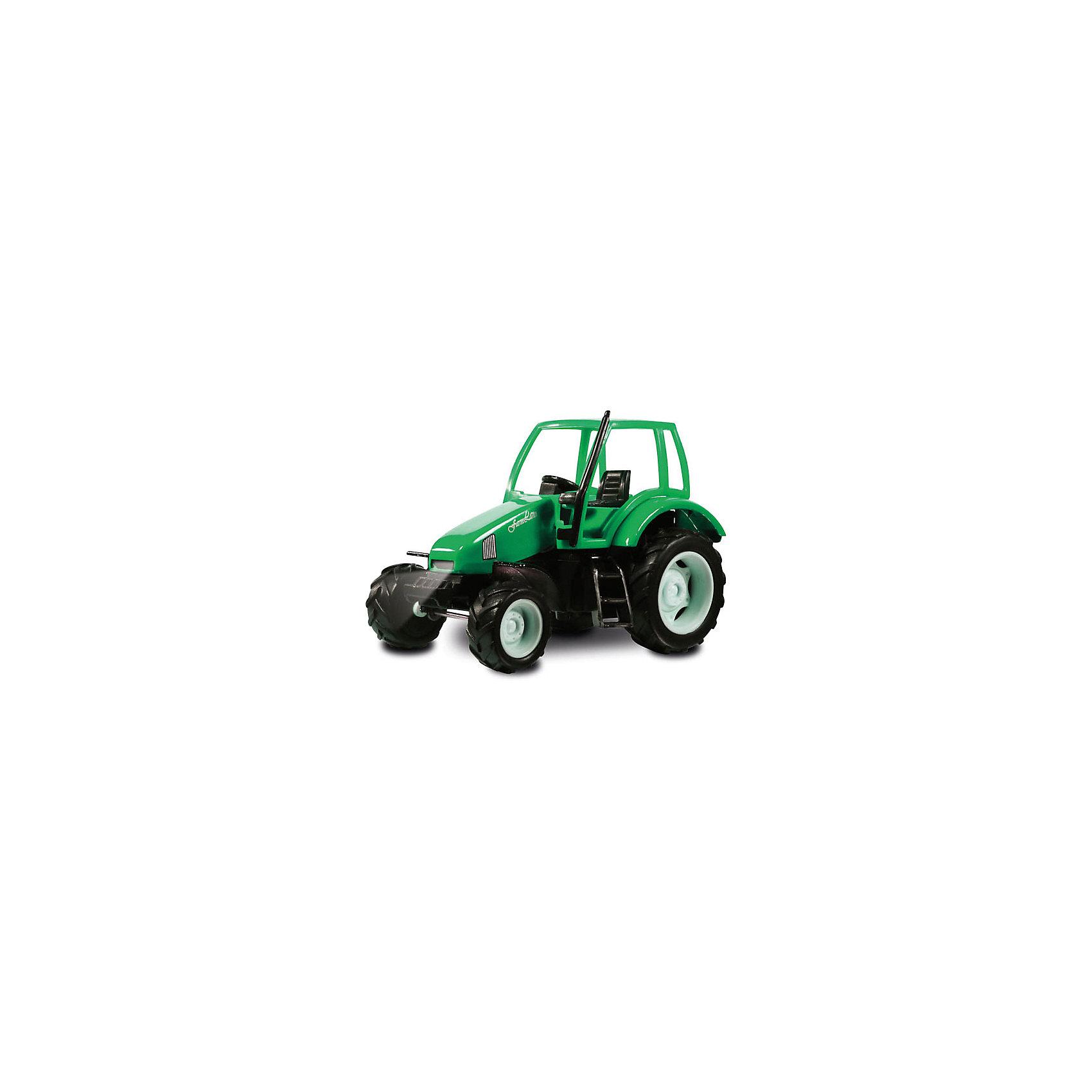 ТЕХНОПАРК Трактор, со светом и звуком, ТЕХНОПАРК tongde технопарк в блистере трактор в72180
