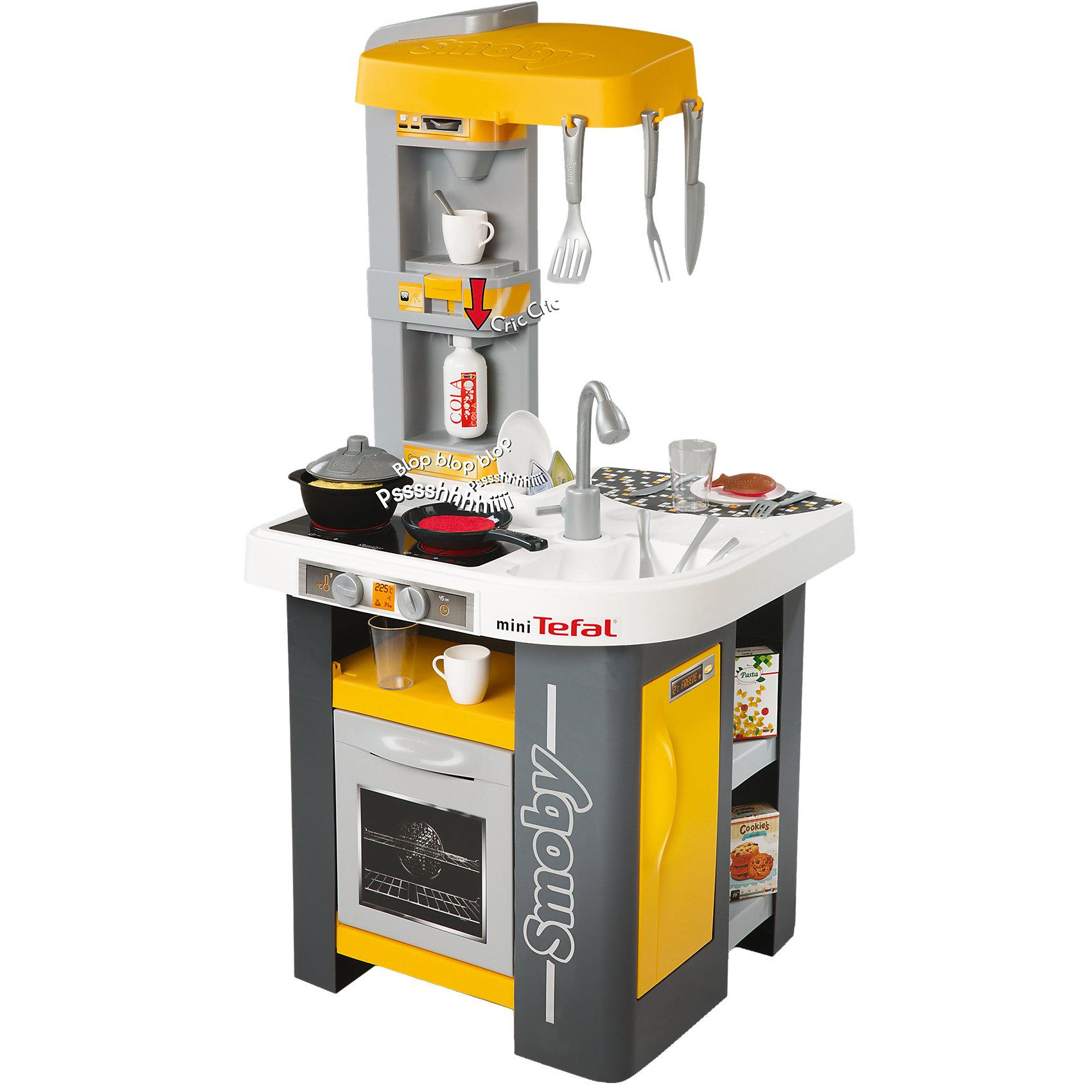 Smoby Кухня электронная Tefal Studio smoby игровой набор кухня tefal studio xxl