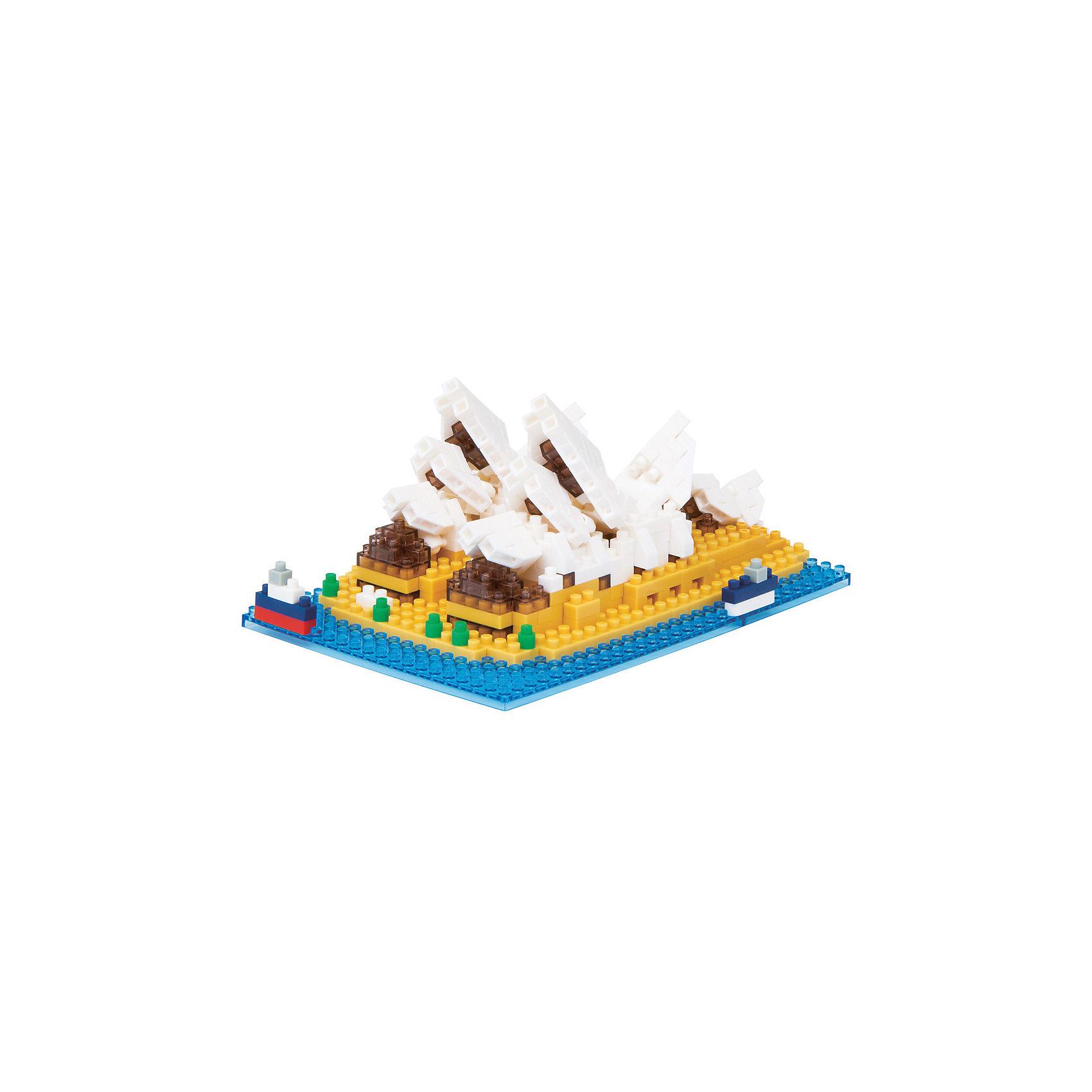 Сиднейский оперный театр, nanoblockДом-ракушка, гигантский цветок лотоса, флотилия парусников, белое облако - все это Сиднейская Опера, ставшая символом Австралии и одним из самых узнаваемых зданий в мире! Эта мини-модель Наноблок интересна конструктивной особенностью крыши - дизайнерам пришлось потрудиться, чтобы придумать как сделать лепестки крыши наклонными и при этом гладкими. Здесь пригодился фирменный шарнир конструктора, который уже встречался в наборах Космический Центр, Бегемот и Богомол.<br><br>Дополнительная информация:<br><br>Размер собранной модели (ДхШхВ): 120х80х52мм<br>Сложность: 4/5<br>Примерное время сборки: 1 час.<br>В комплекте: 430 деталей + запасные, площадка-основание 8х8см, подробная графическая схема сборки.<br>Самая маленькая деталь конструктора - 4х4мм, а классический прямоугольный элемент 2-на-4 точки имеет размер 8х16мм и 5мм высотой.<br><br>Конструктор Сиднейский оперный театр, nanoblock (наноблок) можно купить в нашем магазине.<br><br>Ширина мм: 145<br>Глубина мм: 45<br>Высота мм: 145<br>Вес г: 150<br>Возраст от месяцев: 108<br>Возраст до месяцев: 1188<br>Пол: Унисекс<br>Возраст: Детский<br>SKU: 4085722