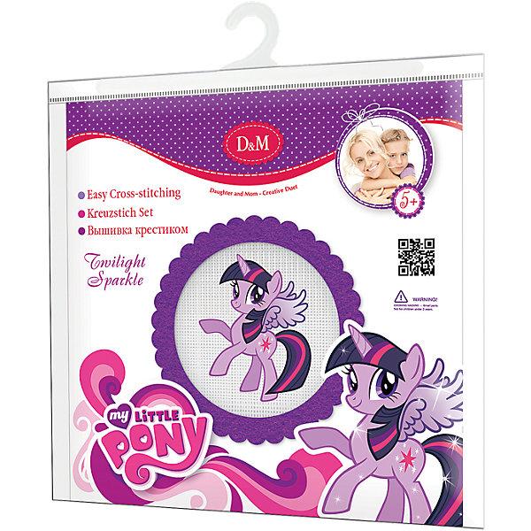 Набор для вышивания крестиком Сумеречная искорка, My little PonyMy little Pony<br>Набор для вышивания крестиком Сумеречная искорка, My little Pony – это отличный подарок для маленьких рукодельниц!<br>Вышивание - очень увлекательное занятие, которое, несомненно, доставит удовольствие каждому ребенку. А с набором для вышивания крестиком Сумеречная искорка торговой марки Делай с мамой это еще и очень просто из-за канвы с уже нанесенным цветным рисунком! Простота исполнения основного элемента (крестика) позволит даже начинающему любителю рукоделия достичь потрясающего результата. А красивый рисунок-вышивка с изображением Сумеречной искорки главной героини мультсериала My little Pony, вставленный в специальную фетровую рамочку, прекрасно украсит любой интерьер и создаст уютную атмосферу в доме. В наборе Вы найдете все, что необходимо: фетровую рамочку, канву с нанесенным рисунком, нитки, металлическую иголку. Вышивание крестиком поможет ребенку научиться пользоваться инструментами для шитья и поспособствует развитию творческих способностей.<br><br>Дополнительная информация:<br><br>- В наборе: фетровая рамка, канва для вышивания, мулине, иголка<br>- Размер упаковки: 220 х 20 х 240 мм.<br>- Вес: 300 гр.<br><br>Набор для вышивания крестиком Сумеречная искорка, My little Pony можно купить в нашем интернет-магазине.<br><br>Ширина мм: 220<br>Глубина мм: 20<br>Высота мм: 240<br>Вес г: 300<br>Возраст от месяцев: 84<br>Возраст до месяцев: 168<br>Пол: Унисекс<br>Возраст: Детский<br>SKU: 4085735