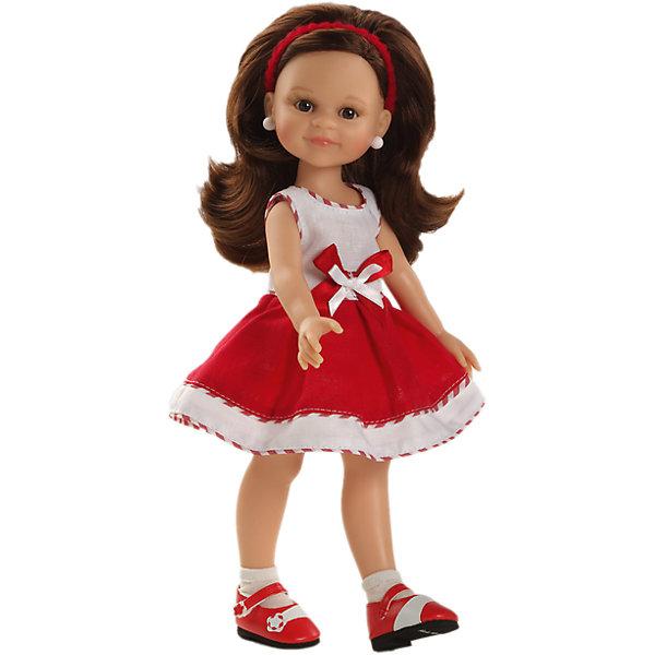 Кукла Клео, 32 см, Paola ReinaКуклы<br>Кукла имеет нежный ванильный аромат; уникальный и неповторимый дизайн лица и тела; ручная работа (ресницы, веснушки, щечки, губы, прическа); волосы легко расчесываются и блестят; глазки не закрываются; ручки, ножки и голова поворачиваются. <br>Качество подтверждено нормами безопасности EN17 ЕЭС. <br>Материалы: кукла изготовлена из винила; глаза выполнены в виде кристалла из прозрачного твердого пластика; волосы сделаны из высококачественного нейлона.<br><br>Дополнительная информация:<br><br>- Высота куклы:  32 см<br><br>Куклу Клео, 32 см, Paola Reina (Паола Рейна) можно купить в нашем магазине.<br>Ширина мм: 105; Глубина мм: 225; Высота мм: 405; Вес г: 670; Возраст от месяцев: 36; Возраст до месяцев: 144; Пол: Женский; Возраст: Детский; SKU: 4086800;