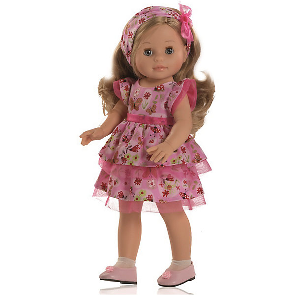 Кукла Эмма, 40 см, Paola ReinaКуклы<br>Куклы из серии Сой Ту (Я это Ты).                                                                             Куклы Паола Рейна имеют нежный ванильный аромат, одеты в модную одежду с аксессуарами. Выразительная мимика, уникальный и неповторимый дизайн лица и тела. Глазки закрываются!<br>Качество подтверждено нормами безопасности EN71 ЕЭС. <br>Материалы: кукла изготовлена из винила; глаза выполнены в виде кристалла из прозрачного твердого пластика; волосы сделаны из высококачественного нейлона.<br><br>Дополнительная информация:<br><br>- Высота куклы:  40 см<br><br>Куклу Эмма, 40 см, Paola Reina (Паола Рейна) можно купить в нашем магазине.<br>Ширина мм: 150; Глубина мм: 280; Высота мм: 530; Вес г: 700; Возраст от месяцев: 36; Возраст до месяцев: 144; Пол: Женский; Возраст: Детский; SKU: 4086802;
