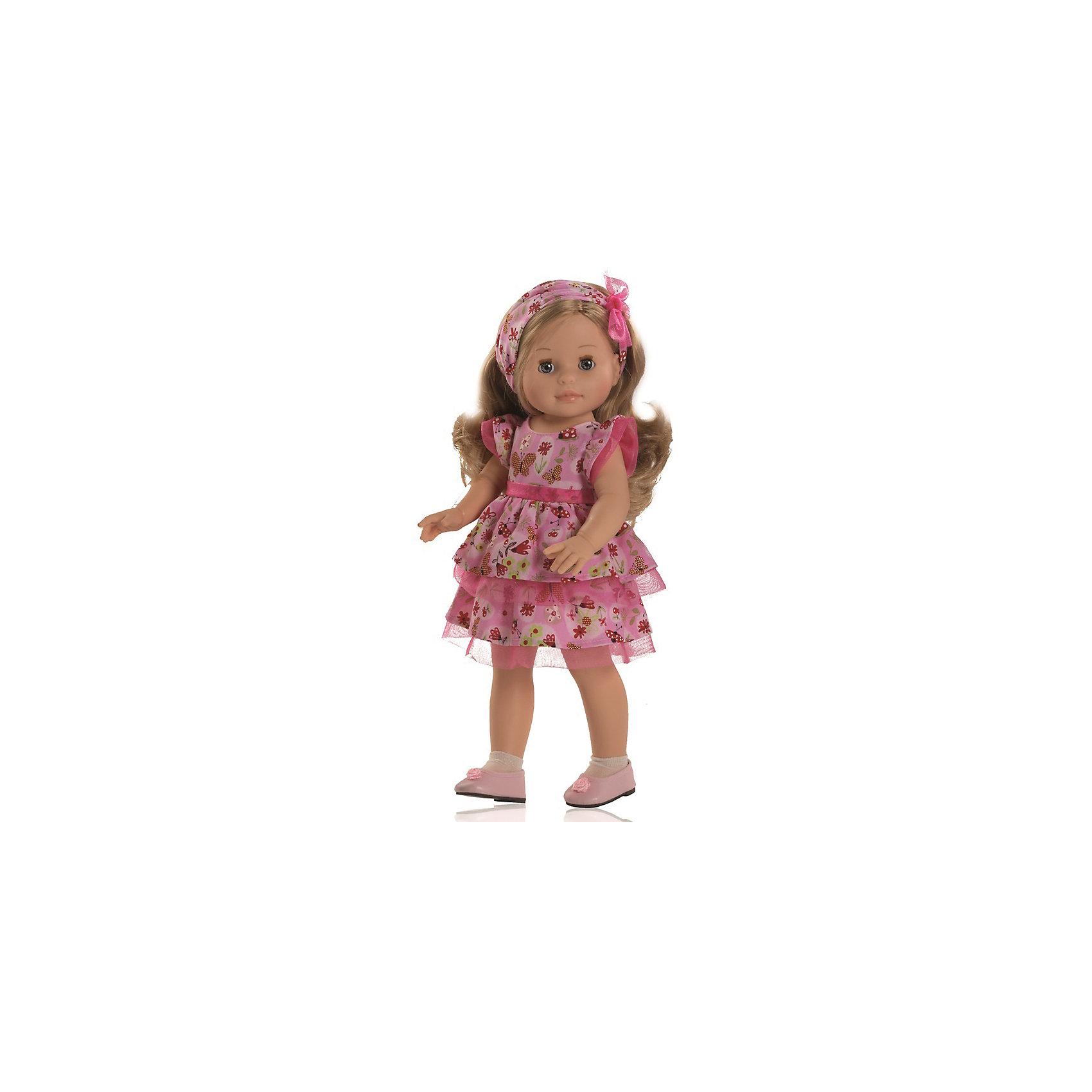 Кукла Эмма, 40 см, Paola ReinaКлассические куклы<br>Куклы из серии Сой Ту (Я это Ты).                                                                             Куклы Паола Рейна имеют нежный ванильный аромат, одеты в модную одежду с аксессуарами. Выразительная мимика, уникальный и неповторимый дизайн лица и тела. Глазки закрываются!<br>Качество подтверждено нормами безопасности EN71 ЕЭС. <br>Материалы: кукла изготовлена из винила; глаза выполнены в виде кристалла из прозрачного твердого пластика; волосы сделаны из высококачественного нейлона.<br><br>Дополнительная информация:<br><br>- Высота куклы:  40 см<br><br>Куклу Эмма, 40 см, Paola Reina (Паола Рейна) можно купить в нашем магазине.<br><br>Ширина мм: 150<br>Глубина мм: 280<br>Высота мм: 530<br>Вес г: 700<br>Возраст от месяцев: 36<br>Возраст до месяцев: 144<br>Пол: Женский<br>Возраст: Детский<br>SKU: 4086802