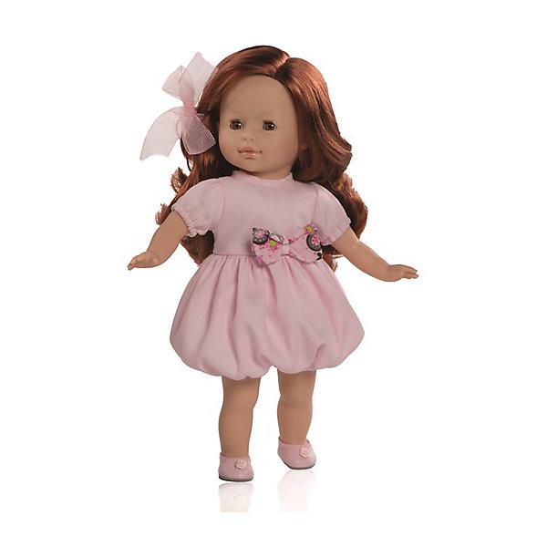 Кукла Анна, 36 см, Paola ReinaКуклы<br>Куклы Паола Рейна с мягконабивным телом, имеют нежный ванильный аромат, одеты в модную яркую одежду с аксессуарами. Выразительная мимика, уникальный и неповторимый дизайн лица и тела.<br>Качество подтверждено нормами безопасности EN71 ЕЭС. <br>Материалы: кукла изготовлена из винила; глаза выполнены в виде кристалла из прозрачного твердого пластика; волосы сделаны из высококачественного нейлона.<br><br>Дополнительная информация:<br><br>- Высота куклы:  36 см<br><br>Куклу Анна, 36 см, Paola Reina (Паола Рейна) можно купить в нашем магазине.<br>Ширина мм: 120; Глубина мм: 240; Высота мм: 490; Вес г: 1000; Возраст от месяцев: 36; Возраст до месяцев: 144; Пол: Женский; Возраст: Детский; SKU: 4086806;