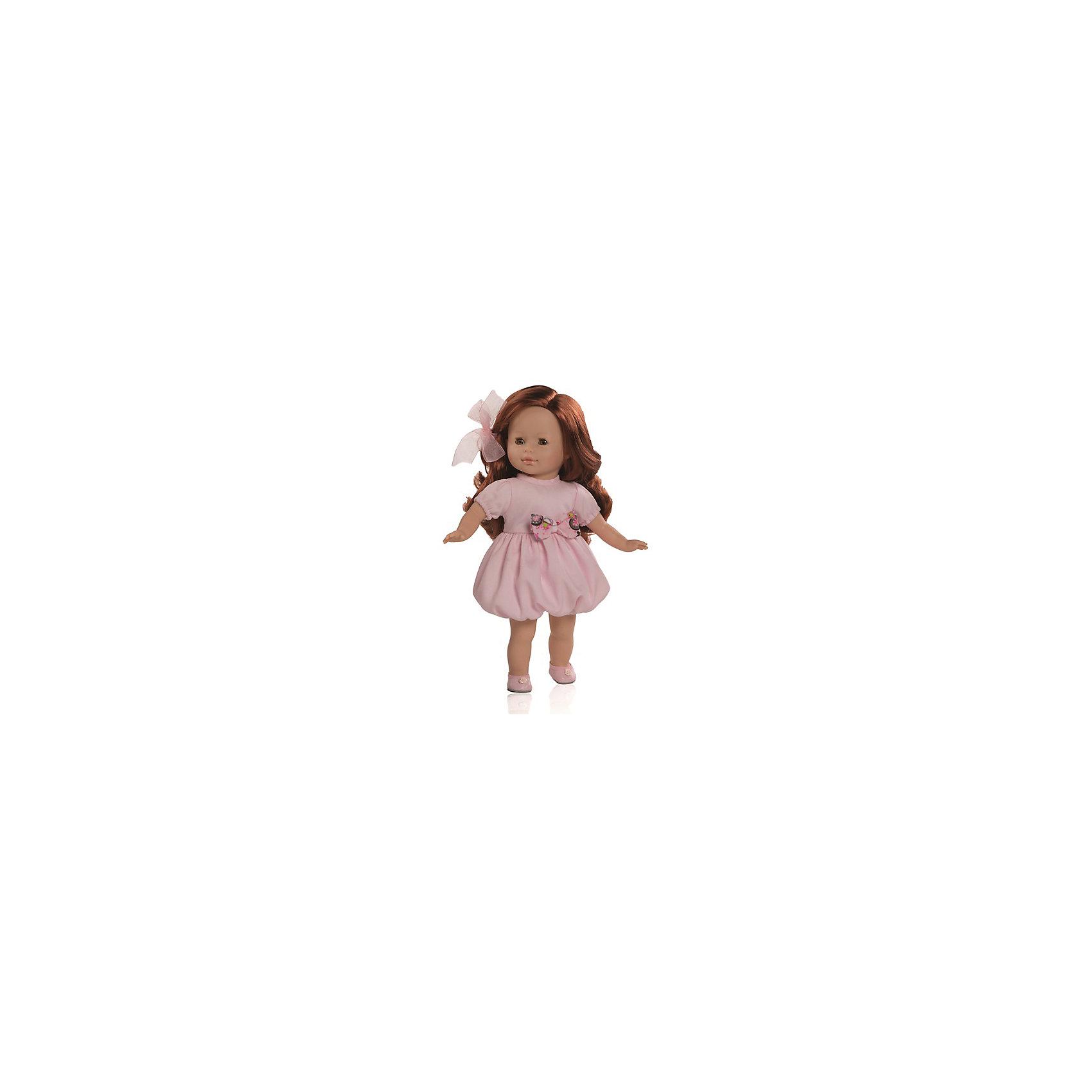 Кукла Анна, 36 см, Paola ReinaБренды кукол<br>Куклы Паола Рейна с мягконабивным телом, имеют нежный ванильный аромат, одеты в модную яркую одежду с аксессуарами. Выразительная мимика, уникальный и неповторимый дизайн лица и тела.<br>Качество подтверждено нормами безопасности EN71 ЕЭС. <br>Материалы: кукла изготовлена из винила; глаза выполнены в виде кристалла из прозрачного твердого пластика; волосы сделаны из высококачественного нейлона.<br><br>Дополнительная информация:<br><br>- Высота куклы:  36 см<br><br>Куклу Анна, 36 см, Paola Reina (Паола Рейна) можно купить в нашем магазине.<br><br>Ширина мм: 120<br>Глубина мм: 240<br>Высота мм: 490<br>Вес г: 1000<br>Возраст от месяцев: 36<br>Возраст до месяцев: 144<br>Пол: Женский<br>Возраст: Детский<br>SKU: 4086806