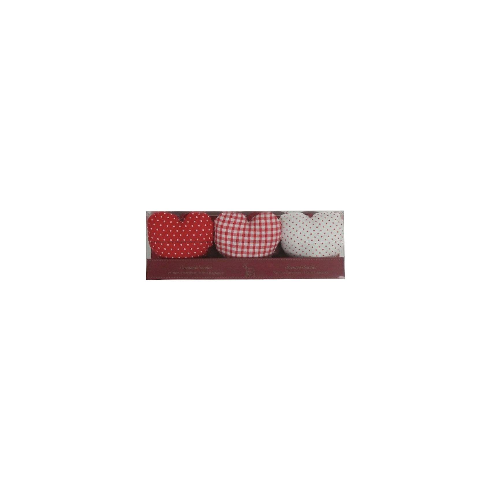 Набор подушечек-саше Сердце (аромат ванили)Набор подушечек-саше Сердце  станет прекрасным ароматным сувениром или же символическим подарком на любой праздник. <br><br>Дополнительная информация:<br><br>- Материал: синтетическое волокно, текстиль.<br>- Размер: 22,5х4,2х7,7 см.<br>- Объем бутылочки с маслом: 2 мл. <br>- Комплектация: три подушечки в форме сердца.<br>- Аромат ванили.<br><br>Набор подушечек-саше Сердце (аромат ванили) можно купить в нашем магазине.<br><br>Ширина мм: 220<br>Глубина мм: 40<br>Высота мм: 70<br>Вес г: 132<br>Возраст от месяцев: 36<br>Возраст до месяцев: 2147483647<br>Пол: Женский<br>Возраст: Детский<br>SKU: 4087279