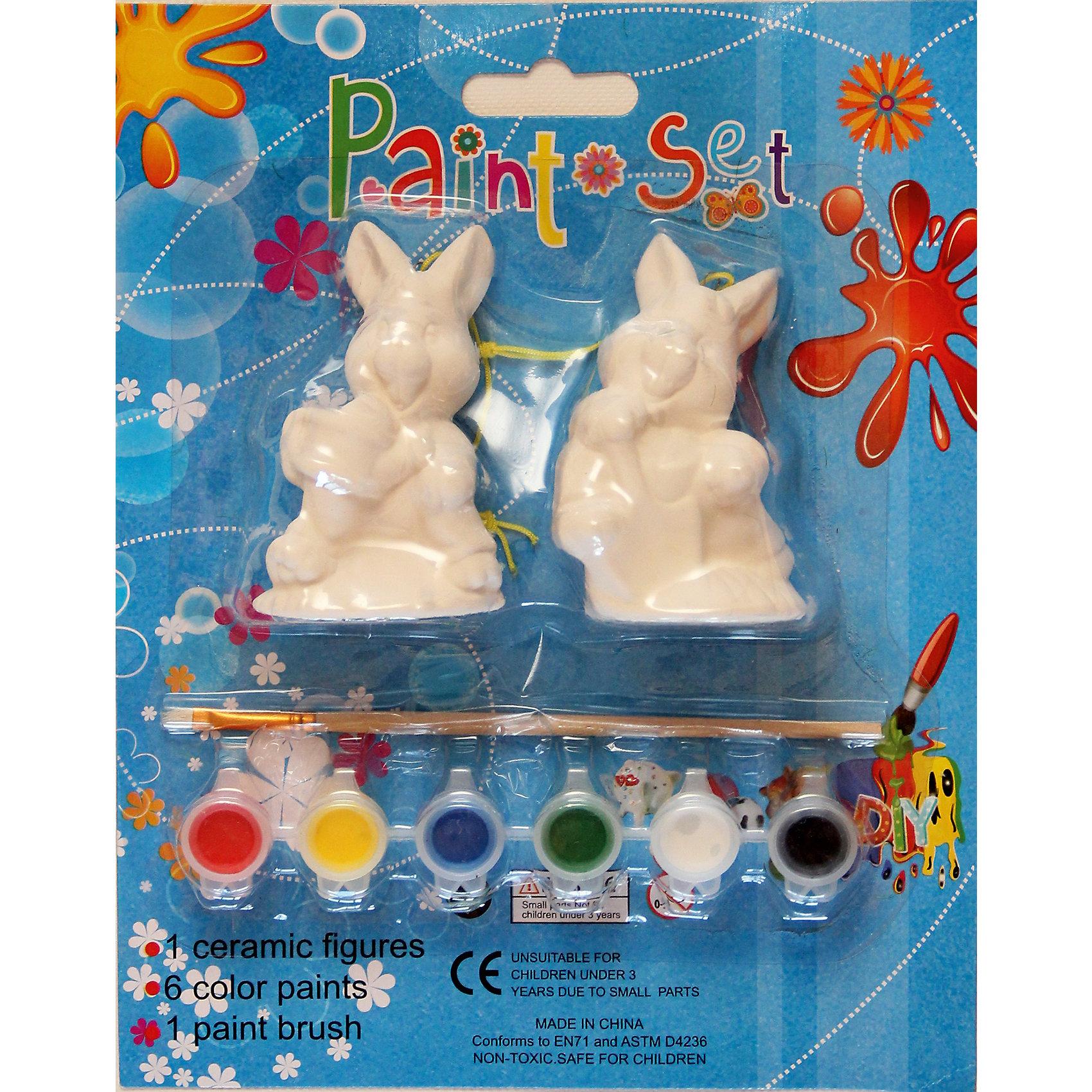 Феникс-Презент Набор для творчества Зайцы набор для детского творчества набор веселая кондитерская 1 кг