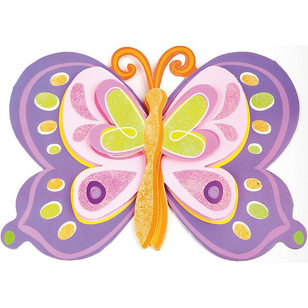 Декоративная наклейка Фиолетовая бабочка 35,5*25 смДетские предметы интерьера<br>Декоративная наклейка Фиолетовая бабочка выполненная из бумаги, на клеевой основе, станет прекрасным украшением любого помещения, оживит и дополнит интерьер комнаты.  Легко наклеивается и снимается, не оставляет следов на обоях и других поверхностях. <br><br>Дополнительная информация:<br><br>- Материал: бумага, клей. <br>- Размер: 35,5х25 см.<br><br>Декоративную наклейку Фиолетовая бабочка можно купить в нашем магазине.<br>Ширина мм: 350; Глубина мм: 250; Высота мм: 10; Вес г: 39; Возраст от месяцев: 36; Возраст до месяцев: 2147483647; Пол: Женский; Возраст: Детский; SKU: 4087303;