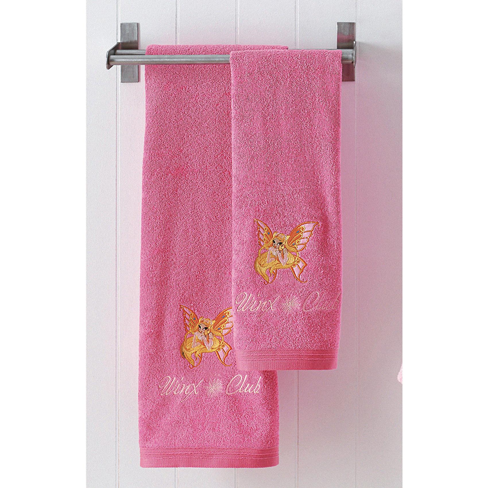 Махровое полотенце «Winx Club Стелла» 70*130 см