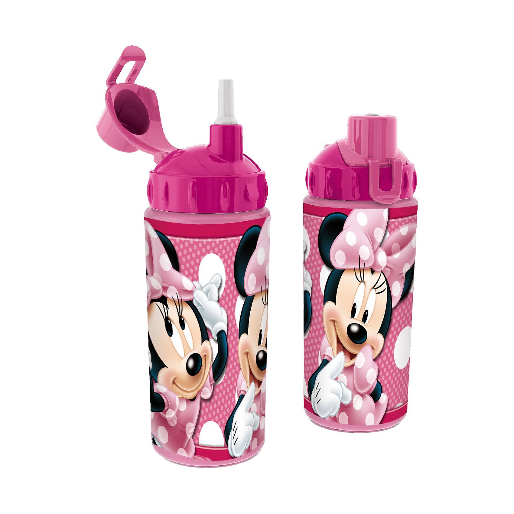 Бутылка спортивная с соломинкой (360 мл), Минни МаусВо время активных тренировок и долгих прогулок очень важно, чтобы ребенок потреблял достаточное количество жидкости. Спортивная бутылка Минни Маус (Minnie Mouse) непременно станет любимой у ребенка. Из яркой и удобной бутылочки с изображением любимицы всех детей мышки Минни, любой напиток будет еще вкуснее! Благодаря компактным размерам бутылку удобно брать в походы, поездки и в школу. Соломинка позволит пить даже на ходу! Носик бутылки закрывается крышечкой, которая препятствует загрязнению и жидкость никогда не прольется. Бутылочка выполнена из безопасных материалов - Вы можете не беспокоиться о здоровье ребенка. Родителей особенно порадует, что бутылку очень легко поддерживать в чистоте. Берите спортивную бутылку с соломинкой Минни Маус (Minnie Mouse) с собой в дорогу, на прогулку и Вы обязательно оцените ее удобство.<br><br>Дополнительная информация:<br><br>- С соломинкой;<br>- Носик с крышечкой;<br>- Особенно понравится поклонникам мультфильмов про Минни Маус (Minnie Mouse);<br>- Материал: высококачественный пластик;<br>- Объем: 360 мл;<br>- Размер: 18 х 7 х 7 см<br><br>Бутылку спортивную с соломинкой (360 мл), Минни Маус (Minnie Mouse), можно купить в нашем интернет-магазине.<br><br>Ширина мм: 65<br>Глубина мм: 65<br>Высота мм: 165<br>Вес г: 75<br>Возраст от месяцев: 36<br>Возраст до месяцев: 108<br>Пол: Женский<br>Возраст: Детский<br>SKU: 4088633
