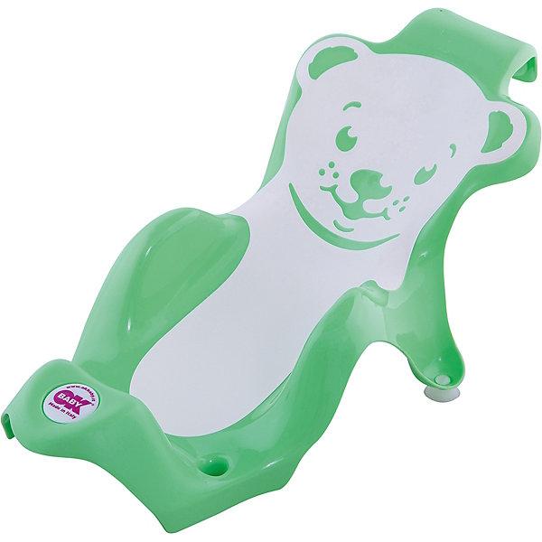 Горка для купания Buddy, Ok Baby, зеленыйТовары для купания<br>Удобная горка сделает купание безопасным, легким и очень приятным, обеспечив ребенку комфортное положение. Изделие прочно крепится с помощью присосок имеет три опорные точки и поверхность из нескользящего материала. Горка изготовлена из высококачественного прочного пластика безопасного для детей.  <br><br>Дополнительная информация:<br><br>- Материал: пластик.<br>- Размер: 28x25x64 см.<br>- Цвет: зеленый.<br>- Крепится с помощью присосок. <br><br>Горку для купания Buddy, OK BABY можно купить в нашем магазине.<br>Ширина мм: 630; Глубина мм: 310; Высота мм: 250; Вес г: 1083; Возраст от месяцев: 0; Возраст до месяцев: 8; Пол: Унисекс; Возраст: Детский; SKU: 4089123;