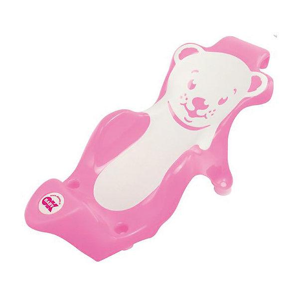 Купить Горка для купания Buddy, Ok Baby, розовый, Италия, Унисекс