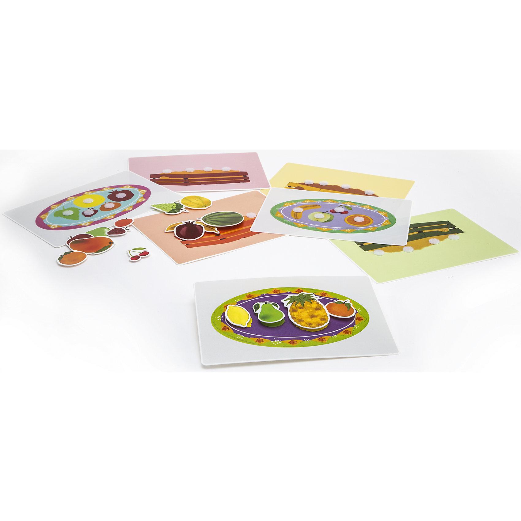 Игра Веселые фрукты, PicnMixЕсли Вы хотите занять малыша чем-то увлекательным и в то же время полезным, то игра Веселые фрукты, от Pic`n Mix - то, что Вы искали! В забавной игровой форме кроха легко выучит названия фруктов, их цвета и отличительные свойства. Игра выполнена из безопасных материалов и прекрасно подходит для малышей. Малыш будет с удовольствием заполнять семь ярких игровых полей, приклеивая на них фрукты. Пазл-липучка Веселые фрукты будет способствовать развитию логического мышления, памяти, а также мелкой моторики рук.<br><br>Дополнительная информация:<br><br>- Развивает логику, память, мелкую моторику;<br>- 7 игровых полей;<br>- Яркие цвета;<br>- Размер упаковки: 25 х 16 х 5,2 см;<br>- Вес: 300 г<br><br>Игру Веселые фрукты, Pic`n Mix можно купить в нашем интернет-магазине.<br><br>Ширина мм: 250<br>Глубина мм: 160<br>Высота мм: 52<br>Вес г: 300<br>Возраст от месяцев: 36<br>Возраст до месяцев: 60<br>Пол: Унисекс<br>Возраст: Детский<br>SKU: 4089706