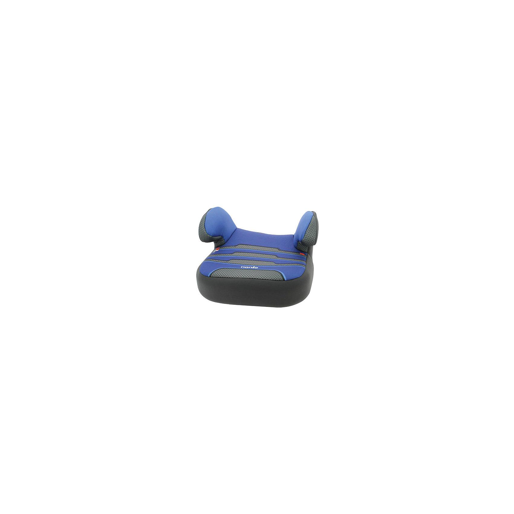 Автокресло-бустер Dream Plus, 15-36 кг., Nania, Boomer EnergyАвтокресло-бустер Dream Plus, 15-36 кг., Nania (Нания) - прекрасная альтернатива громоздким автокреслам для подросших детей. Бустер Dream Plus Nania (Нания) в новой, оригинальной и яркой цветовой гамме прекрасно подойдет для безопасных автомобильных поездок. Кресло очень просто установить в транспортном средстве и также легко демонтировать. Благодаря компактным размерам оно займет минимум места в багажнике при необходимости транспортировки. В таком кресле ребенку будет не тесно даже в зимней одежде. За бустером легко ухаживать - чехол моющийся, а дышащая ткань обивки не позволит потеть нежной детской коже. Бустер крепится на переднем или заднем сиденье транспортного средства по направлению его движения с помощью штатных 3-точечных ремней.<br><br>Дополнительная информация: <br><br>- Имеет европейский сертификат ECE R44/04;<br>- Группа: 2-3 (15-36 кг);<br>- Мягкая обивка;<br>- Комфортные подлокотники;<br>- Ребенок фиксируется штатными автомобильными ремнями;<br>- Мягкое комфортное сиденье с противоскользящим покрытием;<br>- Быстрое крепление;<br>- Ударопрочный каркас;<br>- Тканевый чехол можно снимать и стирать при щадящем режиме; <br>- Внешние размеры (Д х Ш х В): 42 х 40 х 25 см;<br>- Цвет: Boomer Energy (синий/серый);<br>- Вес в упаковке: 2 кг<br><br>Автокресло-бустер Dream Plus, 15-36 кг., Nania (Нания), Boomer Energy можно купить в нашем интернет-магазине.<br><br>Ширина мм: 800<br>Глубина мм: 450<br>Высота мм: 610<br>Вес г: 1683<br>Возраст от месяцев: 36<br>Возраст до месяцев: 144<br>Пол: Унисекс<br>Возраст: Детский<br>SKU: 4092586