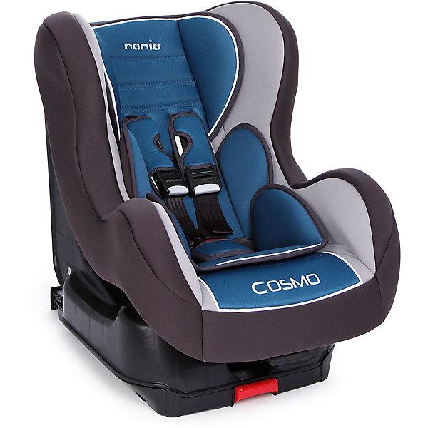 Автокресло Nania Cosmo SP Isofix LUX 9-18 кг, agora petroleГруппа 1 (от 9 до 18 кг)<br>Автокресло Cosmo SP Isofix LUX от Nania (Нания) несомненно станет Вашим главным помощником во время путешествий с малышом. Кресло оснащено самой современной системой крепления Isofix, которая повышает стабильность и безопасность в дороге. Установить такое кресло неправильно просто невозможно. При разработке кресла Cosmo SP Isofix LUX были учтены все потребности ребенка во время путешествий. За безопасность маленького пассажира отвечает прочный каркас и усиленная боковая защита. Малыша в кресле надежно удержат мягкие пятиточечные ремни безопасности с удобной регулировкой. Голову ребенка защитит мягкий регулируемый подголовник. Благодаря пяти положениям наклона спинки, Ваш малыш сможет с комфортом отдохнуть в дороге. Для безопасной перевозки маленьких детей кресло Cosmo SP Isofix LUX оборудовано анатомическим вкладышем и мягким подголовником. Благодаря съемному чехлу, который можно стирать, кресло всегда будет выглядеть как новое. <br><br>Дополнительная информация: <br><br>- Имеет европейский сертификат ECE R44/04;<br>- Группа: 1 (9-18 кг);<br>- Крепление Isofix;<br>- Усиленная боковая защита;<br>- 5 удобных положений спинки;<br>- Мягкий подголовник;<br>- Пятиточечные ремни безопасности с удобной регулировкой;<br>- Легкое крепление в автомобиле;<br>- Ударопрочный каркас;<br>- Тканевый чехол можно снимать и стирать при щадящем режиме; <br>- Размер сидения: 33 х 31 см;<br>- Внешние размеры (Д х Ш х В): 54 х 45 х 61 см;<br>- Цвет: Agora Petrole (серый/синий);<br>- Вес: 9,3 кг<br><br>Автокресло Cosmo SP Isofix LUX, 9-18 кг., Nania (Нания), Agora Petrole можно купить в нашем интернет-магазине.<br>Ширина мм: 670; Глубина мм: 550; Высота мм: 470; Вес г: 9927; Возраст от месяцев: 9; Возраст до месяцев: 36; Пол: Унисекс; Возраст: Детский; SKU: 4092602;