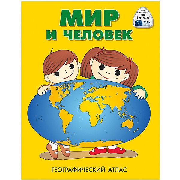 Атлас Мир и человекАтласы и карты<br>Характеристики:<br><br>• возраст: от 3 лет;<br>• формат: А4;<br>• количество страниц: 72,<br>• вес упаковки: 296 гр.;<br>• размер упаковки: 28х22х5 см;<br>• издательство: DMB;<br>• страна производитель: Россия.<br><br>Красочный детский атлас «Мир и человек» познакомит ребенка с окружающим миром. На 72 страницах расположились наглядные иллюстрации по трем темам: Этот загадочный мир, Наша родина на глобусе и на карте, Земля и ее жители. Объемный атлас надолго увлечет ребенка и вернет его на свои страницы не один раз. Занятия с атласом улучшают восприятие мира, память и расширяют кругозор. Журнал А4 удобно брать с собой.<br><br>Атлас «Мир и человек» А4 можно купить в нашем интернет-магазине.<br><br>Ширина мм: 280<br>Глубина мм: 220<br>Высота мм: 5<br>Вес г: 296<br>Возраст от месяцев: 36<br>Возраст до месяцев: 2147483647<br>Пол: Унисекс<br>Возраст: Детский<br>SKU: 4093408