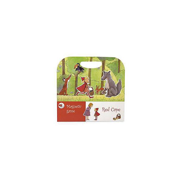 Детская настольная магнитная игра Красная шапочка, Egmont ToysНастольные игры для всей семьи<br>Все любители сказки про Красную шапочку смогут поучаствовать в увлекательном путешествии маленькой девочки в темном лесу. На страницах магнитной книги много красочных персонажей и интересных героев, которые отправляются на поиски приключений. <br><br>Настольная игра выполнена в виде книги, а специальные магниты позволяют дополнить ее и сделать историю более увлекательной. В процессе игры у ребенка развивается изображение, он учится сопоставлять и анализировать. Игра с мелкими деталями развивает моторные функции ребенка. <br><br>Дополнительная информация:<br><br>В наборе: книга и 20 магнитов. <br>Размер в упаковке: 24 х 25 х 1,5 см<br><br>Магнитную игру Красная шапочка можно купить в нашем магазине.<br>Ширина мм: 240; Глубина мм: 250; Высота мм: 15; Вес г: 250; Возраст от месяцев: 36; Возраст до месяцев: 72; Пол: Унисекс; Возраст: Детский; SKU: 4093771;