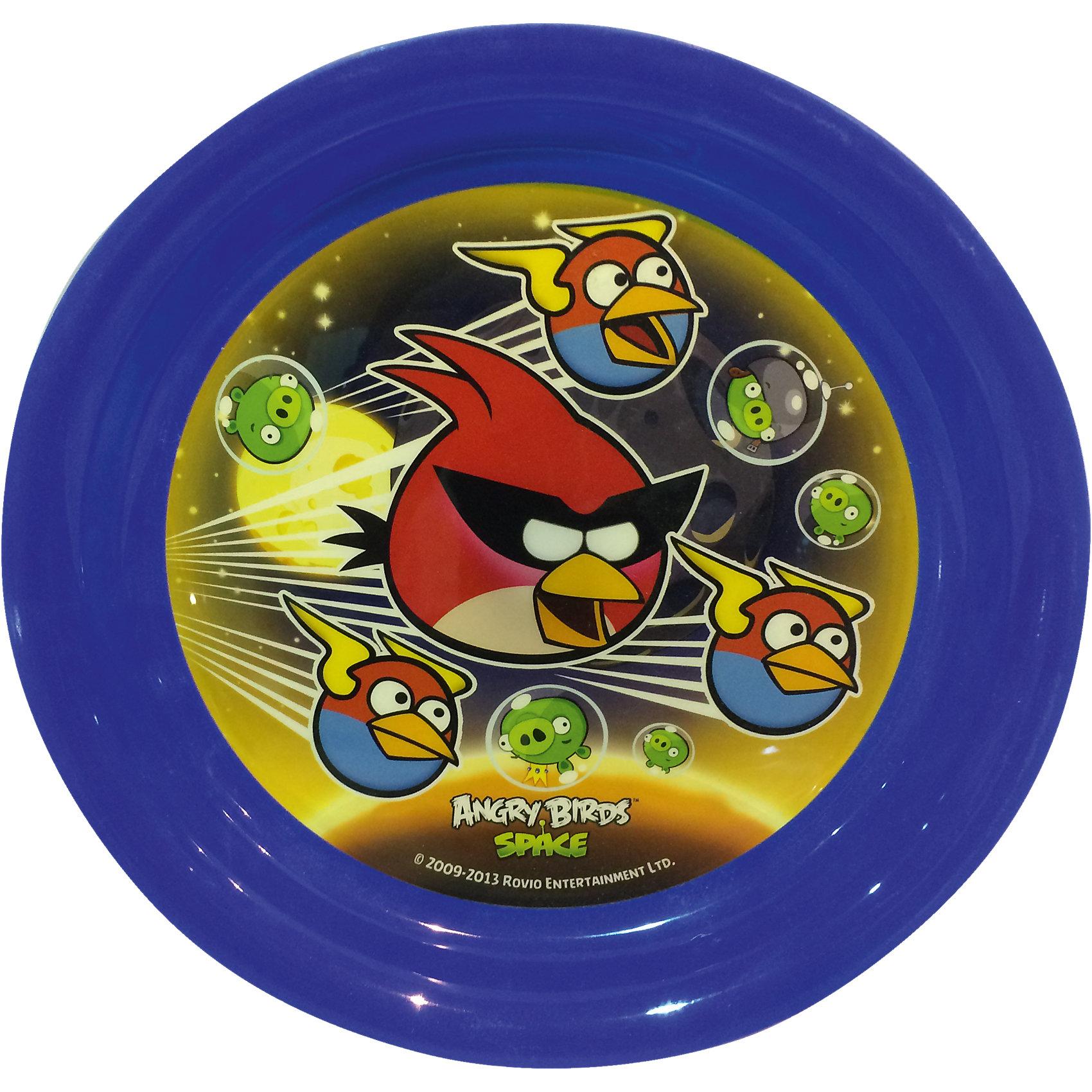 Синяя тарелка