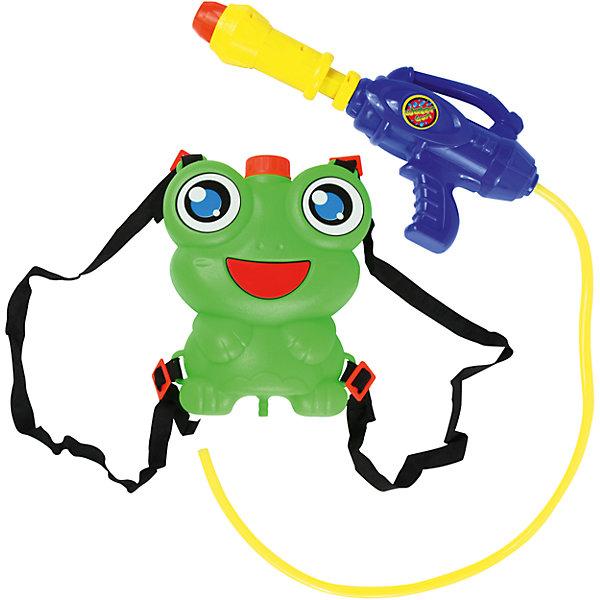 Водный автомат Водомёт, с ранцем-лягушонком, BebelotИгрушечное оружие<br>Можно играть в пожарных, а можно просто весело обливаться и резвиться. С водным автоматом Водомёт от Bebelot можно придумать множество увлекательных игр на свежем воздухе. Просто налейте в ранец-лягушонок чистой воды и Вы готовы к игре! Ранец невероятно симпатичный. Его легко надевать и носить за спиной, поэтому вода не закончится на самом интересном месте игры. Водный автомат Водомёт - лучшая игрушка для жаркой погоды.<br><br>Дополнительная информация: <br><br>- В комплекте: водный автомат, ранец-баллон;<br>- Поможет освежиться в жару;<br>- Набор выполнен из высококачественного пластика;<br>- Удобная форма;<br>- Размер: 48 см;<br>- Размер упаковки: 48 х 32 х 8 см<br>- Вес: 0,2 кг<br><br>Водный автомат Водомёт, с ранцем-лягушонком, Bebelot можно купить в нашем интернет-магазине.<br>Ширина мм: 480; Глубина мм: 320; Высота мм: 80; Вес г: 200; Возраст от месяцев: 36; Возраст до месяцев: 72; Пол: Унисекс; Возраст: Детский; SKU: 4094285;