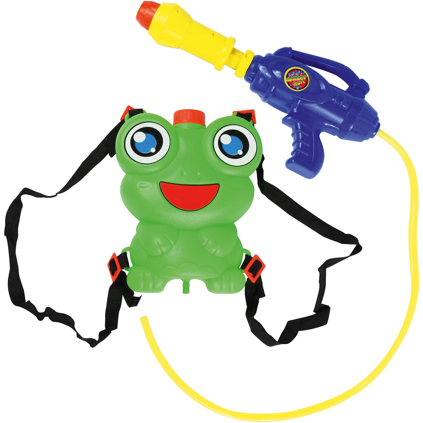 Водный автомат Водомёт, с ранцем-лягушонком, BebelotИгрушечное оружие<br>Можно играть в пожарных, а можно просто весело обливаться и резвиться. С водным автоматом Водомёт от Bebelot можно придумать множество увлекательных игр на свежем воздухе. Просто налейте в ранец-лягушонок чистой воды и Вы готовы к игре! Ранец невероятно симпатичный. Его легко надевать и носить за спиной, поэтому вода не закончится на самом интересном месте игры. Водный автомат Водомёт - лучшая игрушка для жаркой погоды.<br><br>Дополнительная информация: <br><br>- В комплекте: водный автомат, ранец-баллон;<br>- Поможет освежиться в жару;<br>- Набор выполнен из высококачественного пластика;<br>- Удобная форма;<br>- Размер: 48 см;<br>- Размер упаковки: 48 х 32 х 8 см<br>- Вес: 0,2 кг<br><br>Водный автомат Водомёт, с ранцем-лягушонком, Bebelot можно купить в нашем интернет-магазине.<br><br>Ширина мм: 480<br>Глубина мм: 320<br>Высота мм: 80<br>Вес г: 200<br>Возраст от месяцев: 36<br>Возраст до месяцев: 72<br>Пол: Унисекс<br>Возраст: Детский<br>SKU: 4094285