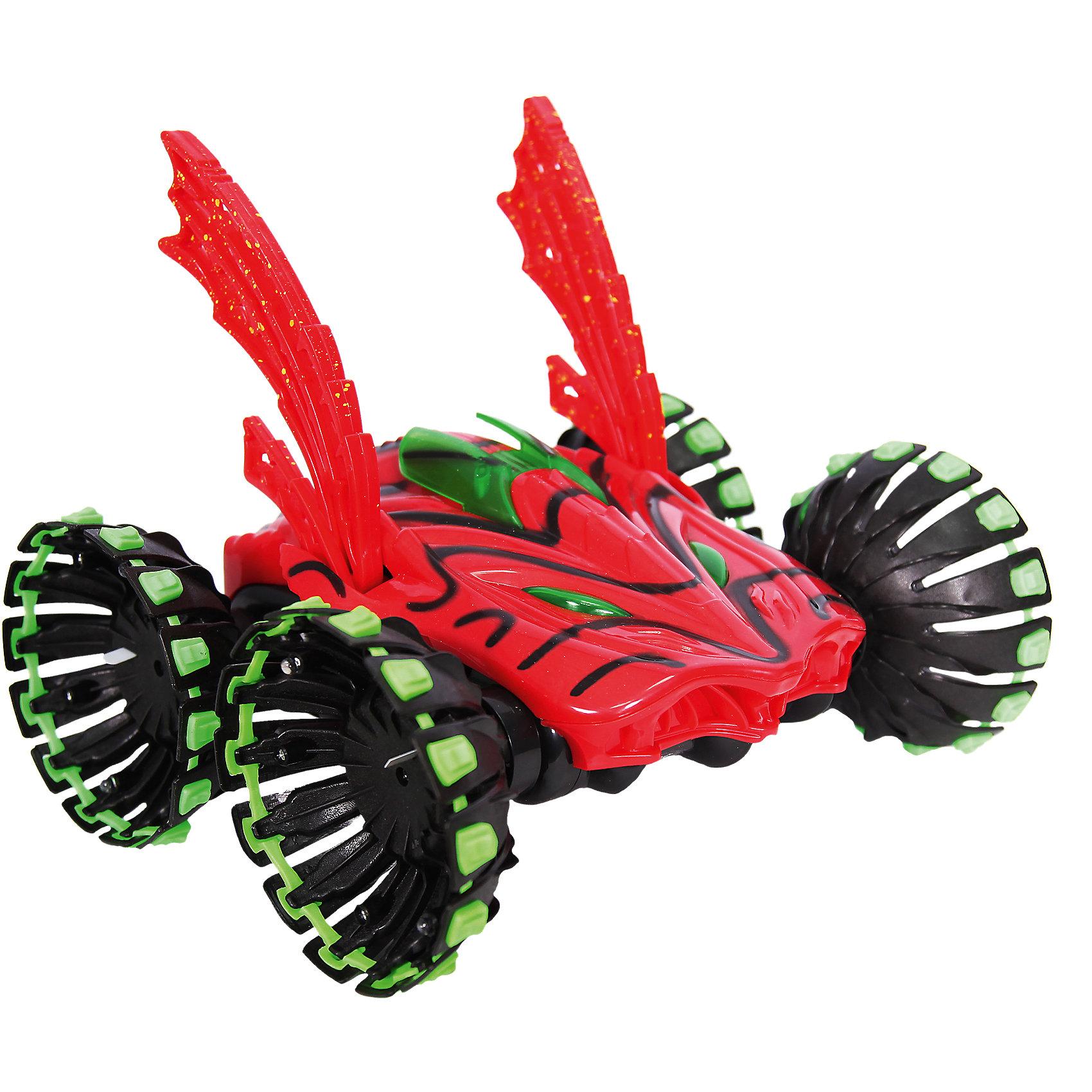 Автомобиль-внедорожник SUPER SPEED STUNT CAR, р/у, SDLАвтомобиль-внедорожник SUPER SPEED STUNT CAR от SDL- это вездеход, который вызовет восторг и взрослых и детей. Яркий вездеход на огромных колесах напоминает пришельца и может развивать скорость до 22 км/ч! Мальчишку очень порадуют внушительные шины, готовые обогнуть любое препятствие. Ребенок получит огромное удовольствие от управления SUPER SPEED STUNT CAR, ведь благодаря резиновые протекторам колес и форме машинка очень маневренная и может выполнять захватывающие трюки! Вездеход может без труда сделать сальто или повращаться на задних колесах. Особый колорит трюкам придают классные световые эффекты. Внедорожник SUPER SPEED STUNT CAR может ездить по любым поверхностям, поэтому мальчик будет обязательно брать ее с собой на прогулку и оттачивать навыки вождения! Собирай друзей и выясняй, кто самый быстрый гонщик!<br><br>Дополнительная информация:<br><br>- В комплекте: детали для сборки, пульт дистанционного управления, аккумуляторная батарейка, батарейка 9V для ПДУ, зарядное устройство;<br>- Светодиоды на колесах;<br>- Может делать сальто и вращаться на задних колесах;<br>- Защита от падений и ударов;<br>- Разгоняется до 22 км/ч;<br>- Состав (материал): пластик;<br>- Цвет: красный;<br>- Размер упаковки: 43 х 22,5 х 30 см; <br>- Вес упаковки: 1,5 кг<br><br>Автомобиль-внедорожник SUPER SPEED STUNT CAR, р/у, SDL можно купить в нашем интернет-магазине.<br><br>Ширина мм: 430<br>Глубина мм: 225<br>Высота мм: 300<br>Вес г: 1500<br>Возраст от месяцев: 72<br>Возраст до месяцев: 144<br>Пол: Мужской<br>Возраст: Детский<br>SKU: 4094293
