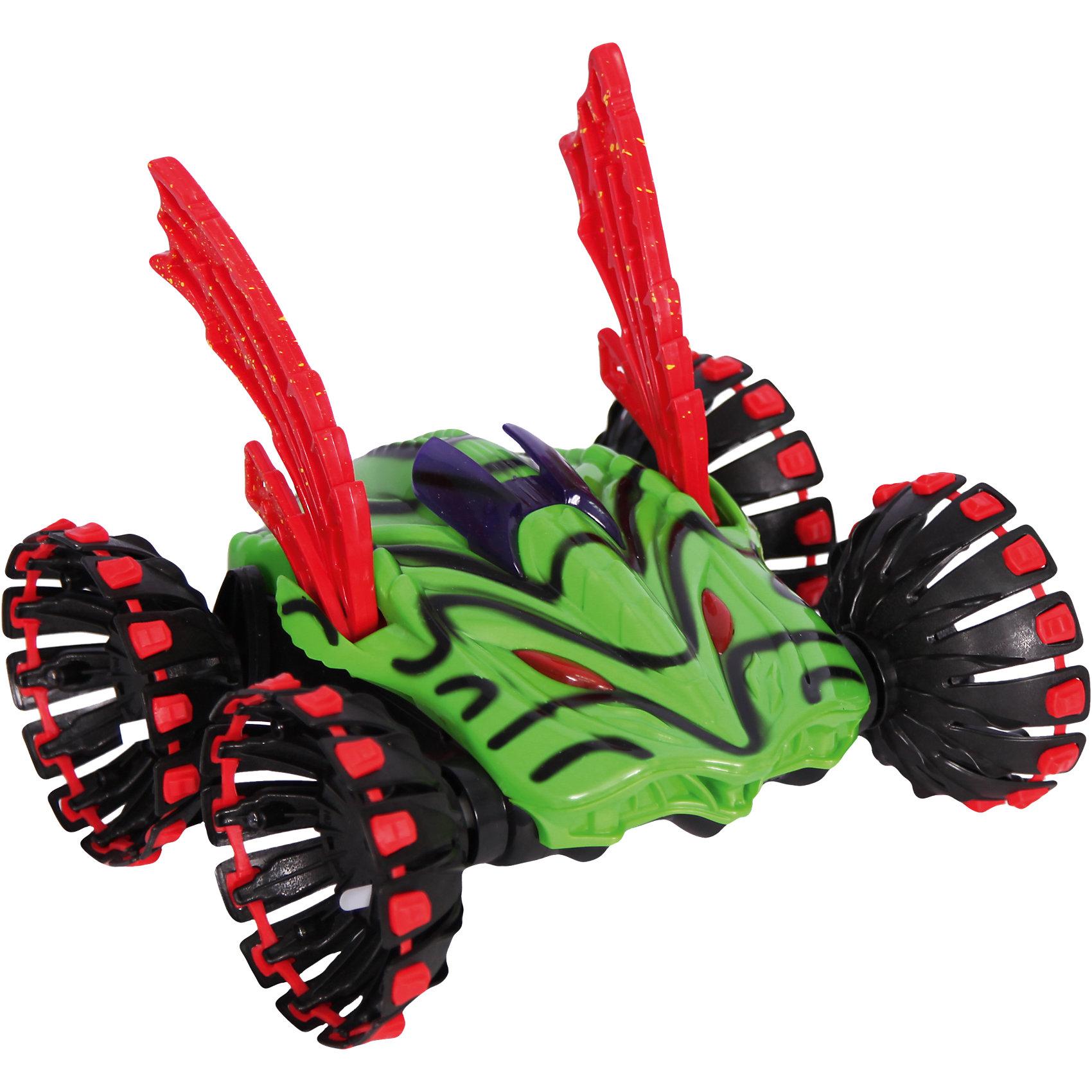 Автомобиль-внедорожник SUPER SPEED STUNT CAR, р/у, SDLАвтомобиль-внедорожник SUPER SPEED STUNT CAR от SDL- это вездеход, который вызовет восторг и взрослых и детей. Яркий вездеход на огромных колесах напоминает пришельца и может развивать скорость до 22 км/ч! Мальчишку очень порадуют внушительные шины, готовые обогнуть любое препятствие. В комплекте с машинкой Вы найдете 4 пары разных сменных шин, которые позволят выполнять классные трюки. Ребенок получит огромное удовольствие от управления SUPER SPEED STUNT CAR, ведь благодаря резиновые протекторам колес и форме машинка очень маневренная и может выполнять захватывающие трюки! Вездеход может без труда сделать сальто или повращаться на задних колесах. Особый колорит трюкам придают классные световые эффекты. Внедорожник SUPER SPEED STUNT CAR может ездить по любым поверхностям, поэтому мальчик будет обязательно брать ее с собой на прогулку и оттачивать навыки вождения! Собирай друзей и выясняй, кто самый быстрый гонщик!<br><br>Дополнительная информация:<br><br>- В комплекте: детали для сборки автомобиля, набор для смены колёс, пульт дистанционного управления, 9V батарейка для ПДУ, аккумуляторная батарейка, зарядное устройство;<br>- Светодиоды на колесах;<br>- 8 сменных колес;<br>- Защита от падений и ударов;<br>- Разгоняется до 22 км/ч;<br>- Состав (материал): пластик;<br>- Цвет: зеленый;<br>- Размер упаковки: 55,8 х 41,5 х 18,2 см; <br>- Вес упаковки: 3,1 кг<br><br>Автомобиль-внедорожник SUPER SPEED STUNT CAR, р/у, SDL можно купить в нашем интернет-магазине.<br><br>Ширина мм: 558<br>Глубина мм: 415<br>Высота мм: 182<br>Вес г: 3100<br>Возраст от месяцев: 72<br>Возраст до месяцев: 144<br>Пол: Мужской<br>Возраст: Детский<br>SKU: 4094294