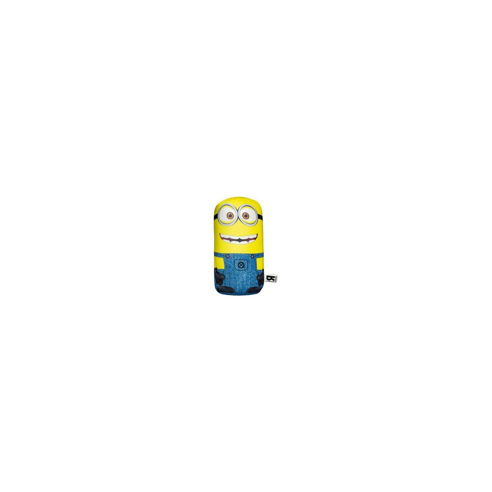 Подушка-антистресс Миньон, (диаметр 16 см, длина 35 см)Антистресс-подушка Миньон, СмолТойс, порадует и поднимет настроение как детям так и взрослым. Яркая подушка выполнена в виде забавного существа миньона из популярного мультфильма Гадкий Я (Despicable Me).Основное достоинство подушки - это осязательный массаж с эффектом релаксации. Гладкая поверхность подушки выполнена из эластичного прочного трикотажа, а внутри находятся мельчайшие гранулы полистирола, благодаря которым она всегда будет легкой, упругой и приятной на ощупь. Подушку можно мять и сжимать, но она неизменно<br>возвращает себе первоначальную форму. Можно стирать в стиральной машинке в специальном мешке для одежды. <br><br>Дополнительная информация:<br><br>- Материал: внешний материал - полиэстер, наполнитель - полистирол.<br>- Высота: 35 см.<br>- Размер: высота 35 см, диамтер 16 см.<br>- Вес: 0,175 кг.<br> <br>Антистресс-подушку Миньон, Small Toys, можно купить в нашем интернет-магазине.<br><br>Ширина мм: 160<br>Глубина мм: 160<br>Высота мм: 350<br>Вес г: 175<br>Возраст от месяцев: 36<br>Возраст до месяцев: 144<br>Пол: Унисекс<br>Возраст: Детский<br>SKU: 4096883