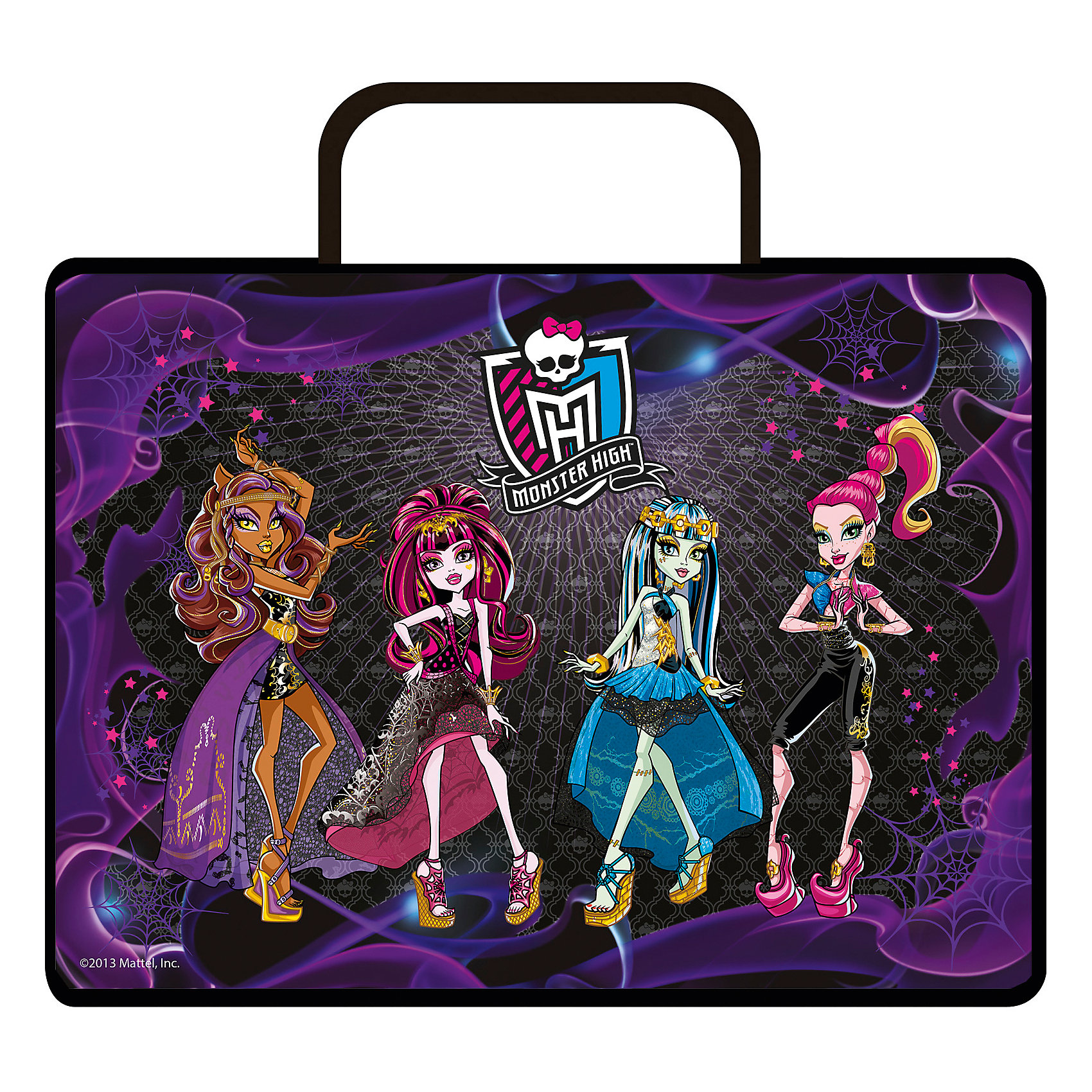 Папка для тетрадей А4 Monster High