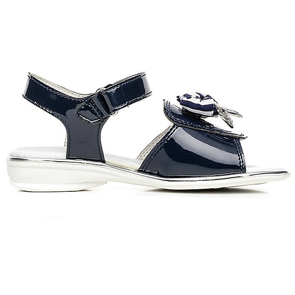 Босоножки для девочки ЗебраБосоножки<br>Босоножки для девочки от известного российского бренда детской обуви Зебра.<br>Красивые черные босоножки – это комфортная и модная обувь для летнего сезона. Они просто застегиваются благодаря липучке, отлично прилегают к ноге. Декорированы босоножки украшением из текстиля.<br>Отличительные особенности модели:<br>- модный дизайн;<br>- универсальный черный цвет;<br>- комфортная колодка;<br>- устойчивая износостойкая подошва;<br>- удобная застежка-липучка;<br>- качественные материалы.<br>Дополнительная информация:<br>- Температурный режим: от + 15° С  до + 35° С.<br>- Состав:<br>материал верха: микрофибра/текстиль<br>материал подкладки: натуральная кожа<br>подошва: резина.<br>Босоножки для девочки от бренда Зебра можно купить в нашем магазине.<br><br>Ширина мм: 219<br>Глубина мм: 154<br>Высота мм: 121<br>Вес г: 343<br>Цвет: синий<br>Возраст от месяцев: 96<br>Возраст до месяцев: 108<br>Пол: Женский<br>Возраст: Детский<br>Размер: 32,28,29,31,33,30<br>SKU: 4101435