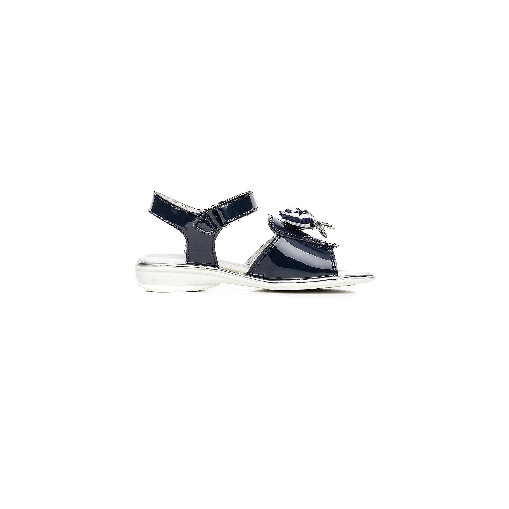 Босоножки для девочки ЗебраБосоножки для девочки от известного российского бренда детской обуви Зебра.<br>Красивые черные босоножки – это комфортная и модная обувь для летнего сезона. Они просто застегиваются благодаря липучке, отлично прилегают к ноге. Декорированы босоножки украшением из текстиля.<br>Отличительные особенности модели:<br>- модный дизайн;<br>- универсальный черный цвет;<br>- комфортная колодка;<br>- устойчивая износостойкая подошва;<br>- удобная застежка-липучка;<br>- качественные материалы.<br>Дополнительная информация:<br>- Температурный режим: от + 15° С  до + 35° С.<br>- Состав:<br>материал верха: микрофибра/текстиль<br>материал подкладки: натуральная кожа<br>подошва: резина.<br>Босоножки для девочки от бренда Зебра можно купить в нашем магазине.<br><br>Ширина мм: 219<br>Глубина мм: 154<br>Высота мм: 121<br>Вес г: 343<br>Цвет: синий<br>Возраст от месяцев: 96<br>Возраст до месяцев: 108<br>Пол: Женский<br>Возраст: Детский<br>Размер: 32,28,29,31,33,30<br>SKU: 4101435
