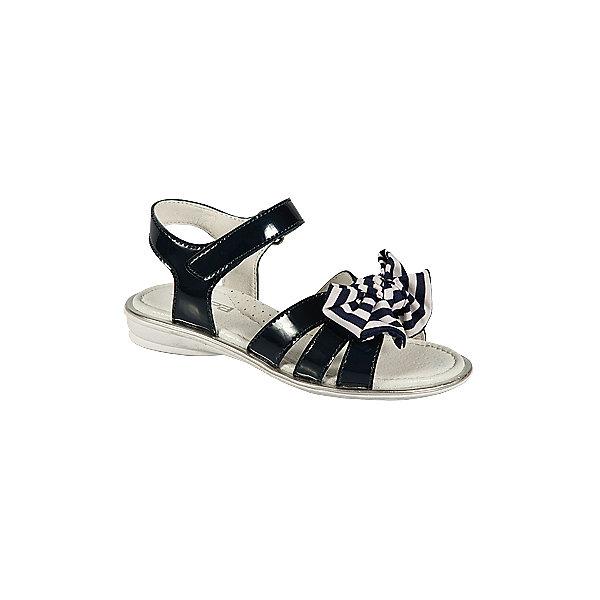 Босоножки для девочки ЗебраБосоножки<br>Босоножки для девочки от известного российского бренда детской обуви Зебра.<br>Стильные черные босоножки – это комфортная и модная обувь для летнего сезона. Они просто застегиваются благодаря липучке, отлично прилегают к ноге. Декорированы босоножки украшением из текстиля.<br>Отличительные особенности модели:<br>- модный дизайн;<br>- универсальный черный цвет;<br>- комфортная колодка;<br>- устойчивая износостойкая подошва;<br>- удобная застежка-липучка;<br>- качественные материалы.<br>Дополнительная информация:<br>- Температурный режим: от + 15° С  до + 35° С.<br>- Состав:<br>материал верха: микрофибра/текстиль<br>материал подкладки: натуральная кожа<br>подошва: резина.<br>Босоножки для девочки от бренда Зебра можно купить в нашем магазине.<br>Ширина мм: 219; Глубина мм: 154; Высота мм: 121; Вес г: 343; Цвет: черный; Возраст от месяцев: 96; Возраст до месяцев: 108; Пол: Женский; Возраст: Детский; Размер: 32,31,33,30,28,29; SKU: 4101456;