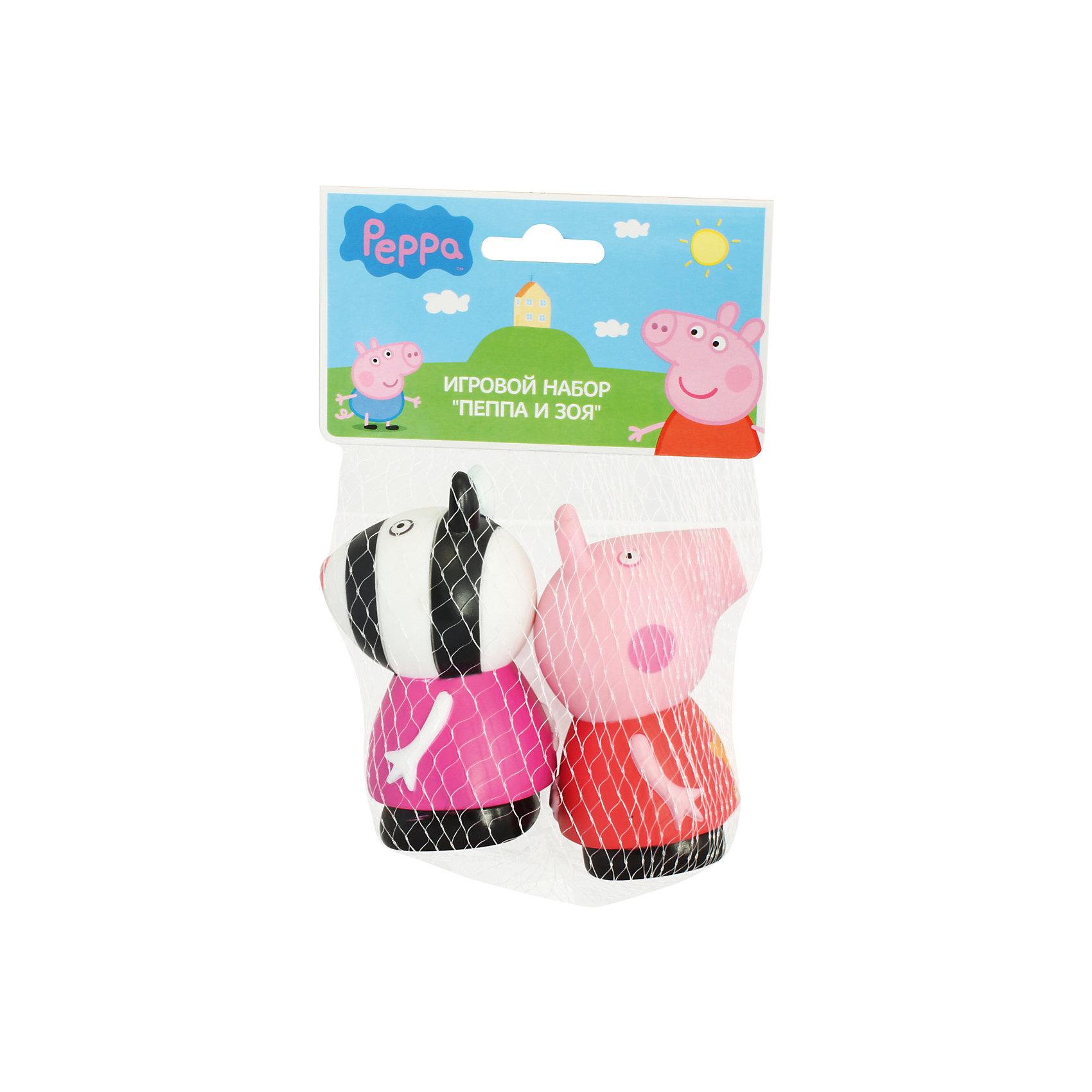 Игровой набор Пеппа и Зои 10 см, Свинка Пеппа