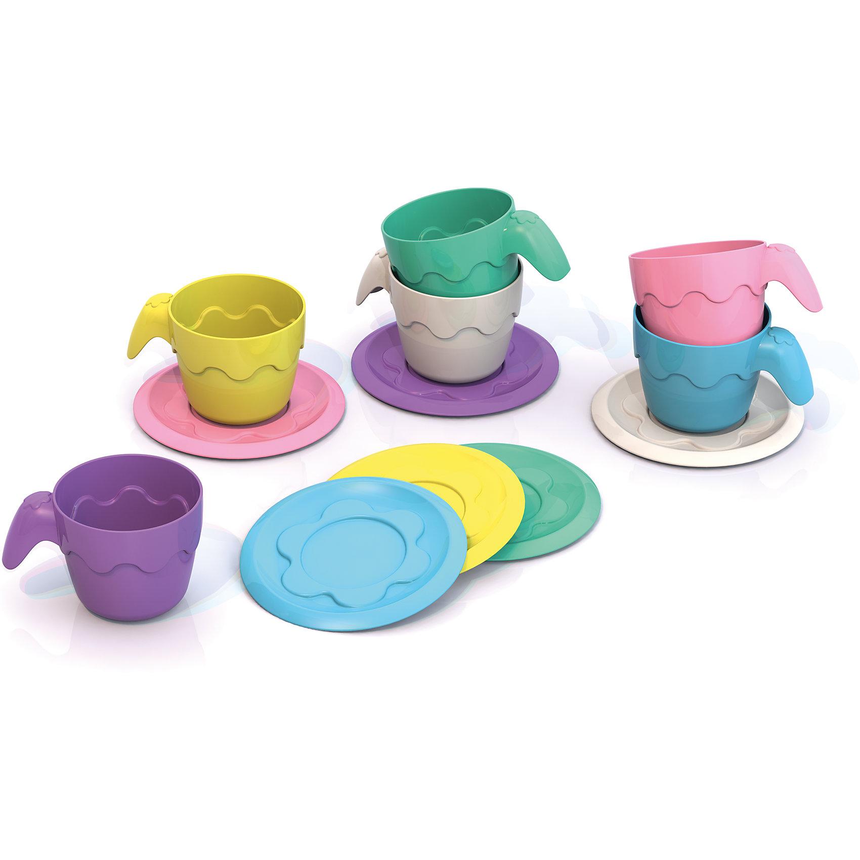Набор детской посуды, ШкодаНабор посуды из серии Готовлю как мама - уникальные игрушки из пластмассы нового поколения, в производстве использованы очень яркие цвета и новые дизайнерские решения.<br>Отличный кухонный набор для маленькой хозяйки.<br><br>Дополнительная информация:<br><br>- в наборе 6 чашек с блюдцами<br>- размеры:  блюдечко ( 6,5*6,5*0,5), чашечка (4*5,5*3,5).<br><br>Набор детской посуды, Шкода можно купить в нашем магазине.<br><br>Ширина мм: 135<br>Глубина мм: 20<br>Высота мм: 230<br>Вес г: 80<br>Возраст от месяцев: 36<br>Возраст до месяцев: 72<br>Пол: Унисекс<br>Возраст: Детский<br>SKU: 4104893