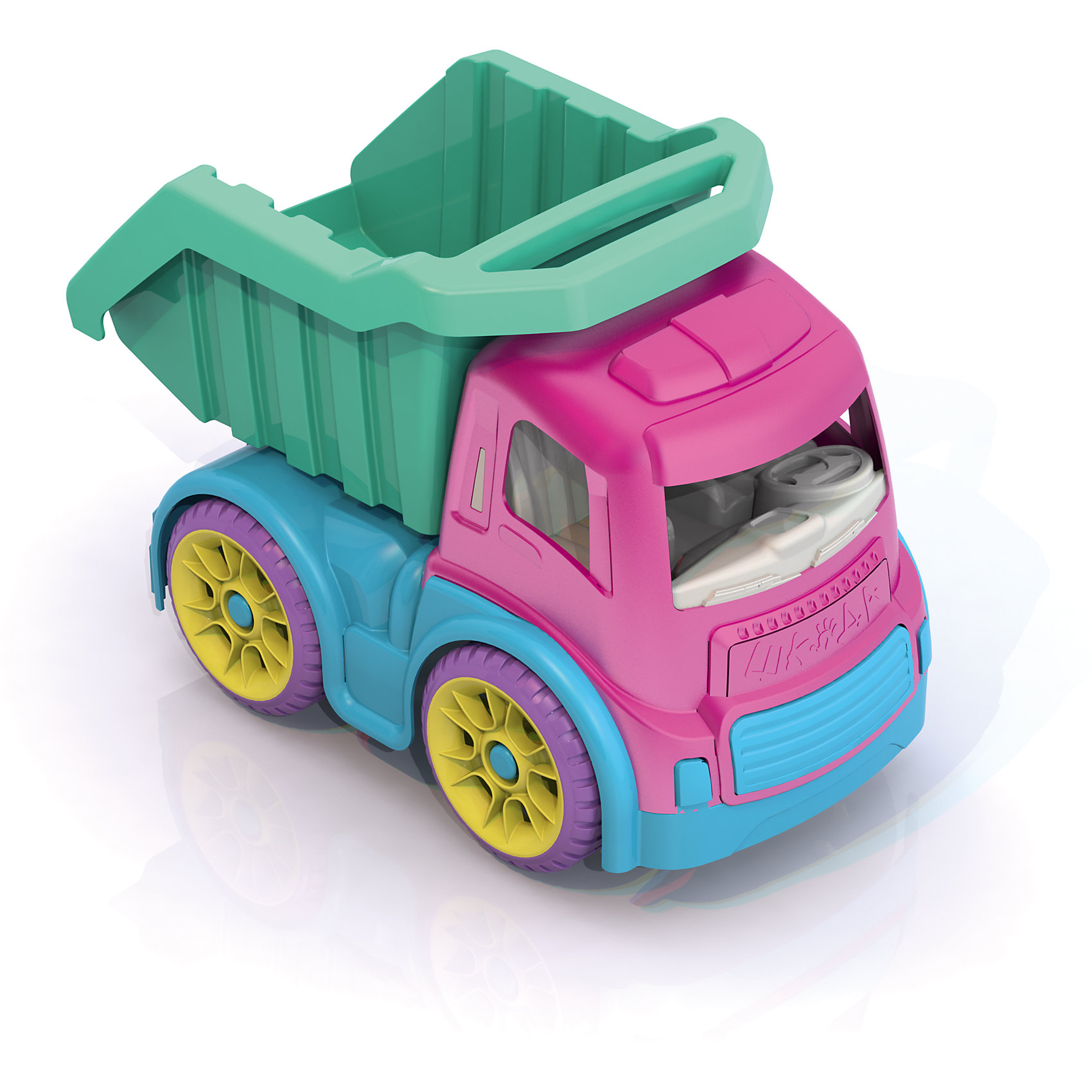Грузовик большой, ШкодаБольшой грузовик из серии Моя любимая машинка - уникальная игрушка из пластмассы нового поколения, в производстве использованы очень яркие цвета и новые дизайнерские решения. <br><br>Дополнительная информация:<br><br>- размеры: (40,5*23*28,5), <br>- функциональный кузов который способен перевозить любые ваши игрушки, регулируется в двух положениях<br><br>Грузовик большой, Шкода можно купить в нашем магазине.<br><br>Ширина мм: 405<br>Глубина мм: 230<br>Высота мм: 285<br>Вес г: 1050<br>Возраст от месяцев: 36<br>Возраст до месяцев: 72<br>Пол: Унисекс<br>Возраст: Детский<br>SKU: 4104899