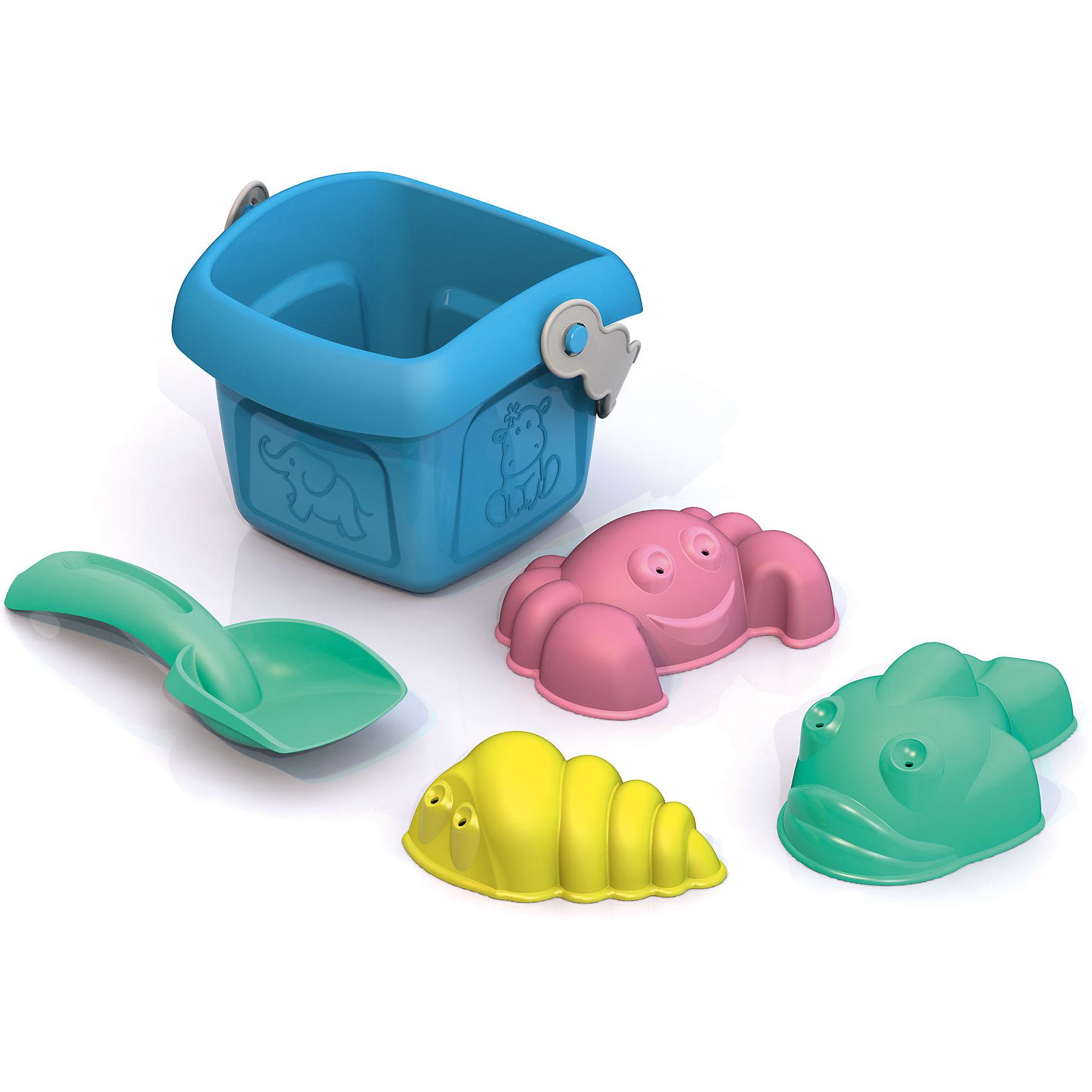 Набор для песочницы, Шкода, цвета в ассортиментеНабор для песочницы, Шкода, цвета в ассортименте.<br><br>Характеристики:<br><br>- В наборе: ведерко (10,6x11,6x8,4 см), совочек (13x5x2,5 см), формочка Ракушка (8x4,7x3 см), формочка Крабик (9x6,6x3 см), формочка Рыбка (9,8x6,2x4,3 см)<br>- Цвета в ассортименте<br>- Материал: пластмасса<br><br>ВНИМАНИЕ! Данный артикул представлен в разных вариантах исполнения. К сожалению, заранее выбрать определенный вариант невозможно. При заказе нескольких наборов возможно получение одинаковых<br><br>Набор для песочницы привлечет внимание вашего ребенка, ведь с яркими игрушками проводить время в песочнице или на пляже станет гораздо интереснее. Набор состоит из небольшого квадратного ведерка с безопасными краями, совочка, 3 формочек в виде крабика, ракушки с улиткой и рыбки. Набор изготовлен из пластмассы нового поколения, в производстве использованы очень яркие цвета и новые дизайнерские решения.<br><br>Набор для песочницы, Шкода, цвета в ассортименте можно купить в нашем интернет-магазине.<br><br>Ширина мм: 225<br>Глубина мм: 55<br>Высота мм: 270<br>Вес г: 80<br>Возраст от месяцев: 36<br>Возраст до месяцев: 72<br>Пол: Унисекс<br>Возраст: Детский<br>SKU: 4104901