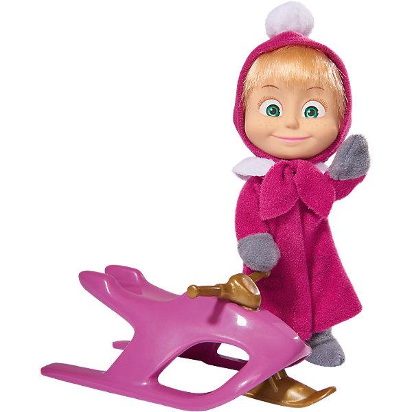 Кукла Маша со снегокатом, Маша и Медведь, SimbaКуклы<br>Кукла Маша со снегокатом, Маша и Медведь, Simba (Симба) – это прекрасный игровой набор по мотивам мультсериала Маша и медведь.<br>Главная героиня знаменитого мультсериала «Маша и Медведь» собралась на зимнюю прогулку. Маша наряжена в теплое пальто лилового цвета с белым воротником, шапку с помпоном и теплые варежки. У нее большие глаза и улыбающееся личико. Ручки и ножки Маши подвижны, ей можно придавать различные позы, оживляя игру. У снегоката имеется подвижный руль, благодаря чему игра будет намного интереснее. Игрушку можно катать с небольших горок, возить за собой на веревочке, устраивать для нее разнообразные игровые сюжеты.<br><br>Дополнительная информация:<br><br>- В наборе: кукла Маша, снегокат<br>- Высота куклы: 12 см.<br>- Материал: пластик, текстиль<br>- Размер упаковки: 12 х 7,5 х 16 см.<br>- Вес: 130 гр.<br><br>Куклу Машу со снегокатом, Маша и Медведь, Simba (Симба) можно купить в нашем интернет-магазине.<br><br>Ширина мм: 166<br>Глубина мм: 124<br>Высота мм: 76<br>Вес г: 101<br>Возраст от месяцев: 36<br>Возраст до месяцев: 72<br>Пол: Женский<br>Возраст: Детский<br>SKU: 4108998