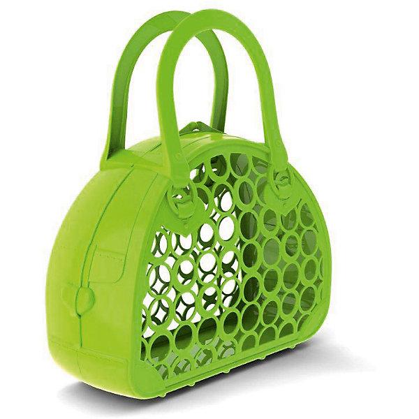 Сумка-корзинка, НордпластДетский супермаркет<br>Сумка-корзинка, Нордпласт – это стильный и практичный аксессуар для вашей девочки.<br>Сумка-корзинка — очень полезная вещь. В нее можно складывать игрушки для песочницы и различные детские аксессуары. Ее очень удобно брать в поездку и на прогулку. У сумки-корзинки негнущиеся ручки, ее легко открыть и закрыть. Изготовлено из пищевой пластмассы, не имеющей неприятных запахов, что обеспечивает дополнительную безопасность при их использовании детьми младших возрастов.<br><br>Дополнительная информация:<br><br>- Материал: высококачественная пластмасса<br>- Размер сумки-корзинки: 28 х 25 х 9,5 см.<br>- Вес: 150 гр.<br><br>Сумку-корзинку, Нордпласт можно купить в нашем интернет-магазине.<br><br>Ширина мм: 250<br>Глубина мм: 95<br>Высота мм: 280<br>Вес г: 150<br>Возраст от месяцев: 36<br>Возраст до месяцев: 72<br>Пол: Унисекс<br>Возраст: Детский<br>SKU: 4112730